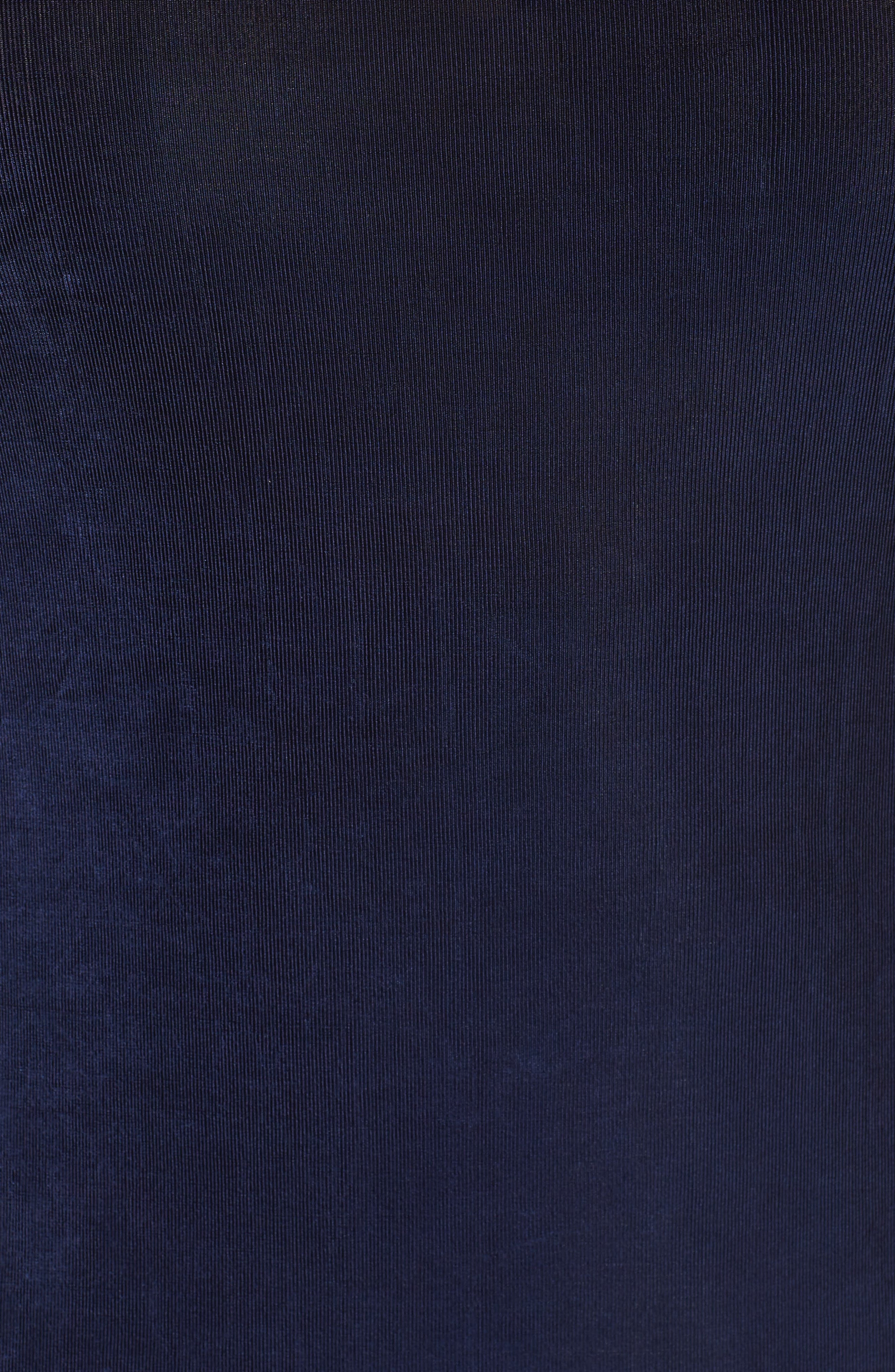 VIKKI VI,                             Sleeveless Maxi Tank Dress,                             Alternate thumbnail 5, color,                             NAVY