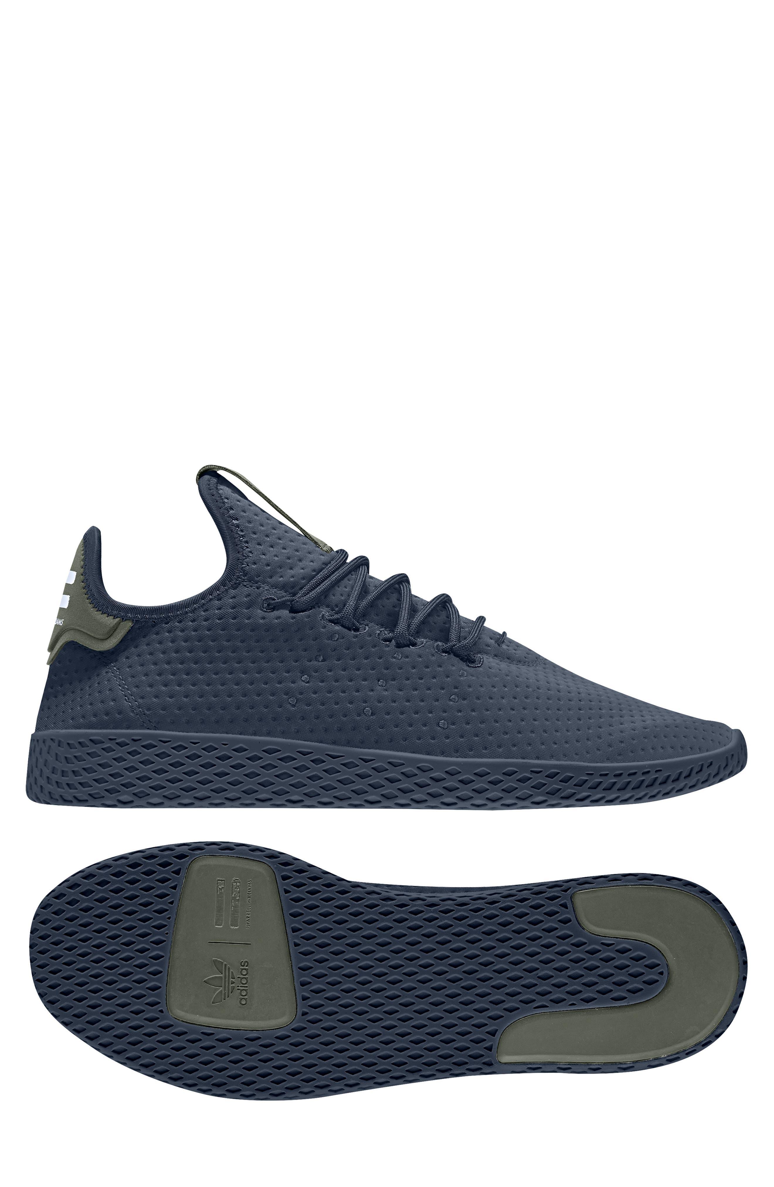 Pharrell Williams Tennis Hu Sneaker,                             Alternate thumbnail 10, color,                             415