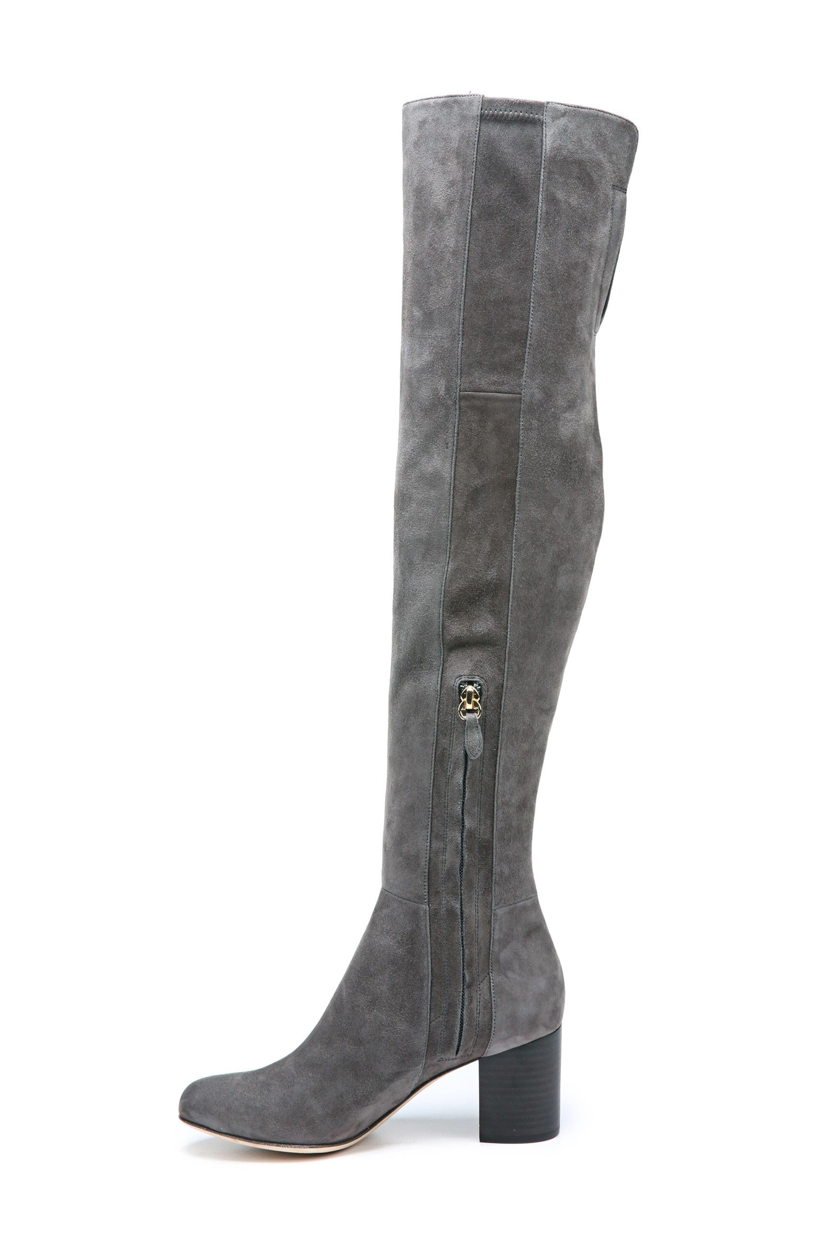 Luzzi Over the Knee Boot,                             Main thumbnail 2, color,