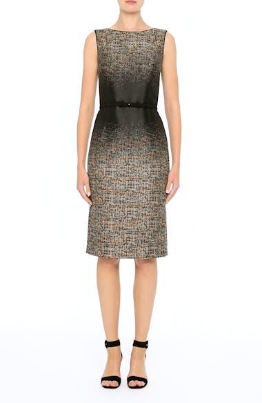 Paulette Jacquard Sheath Dress, video thumbnail