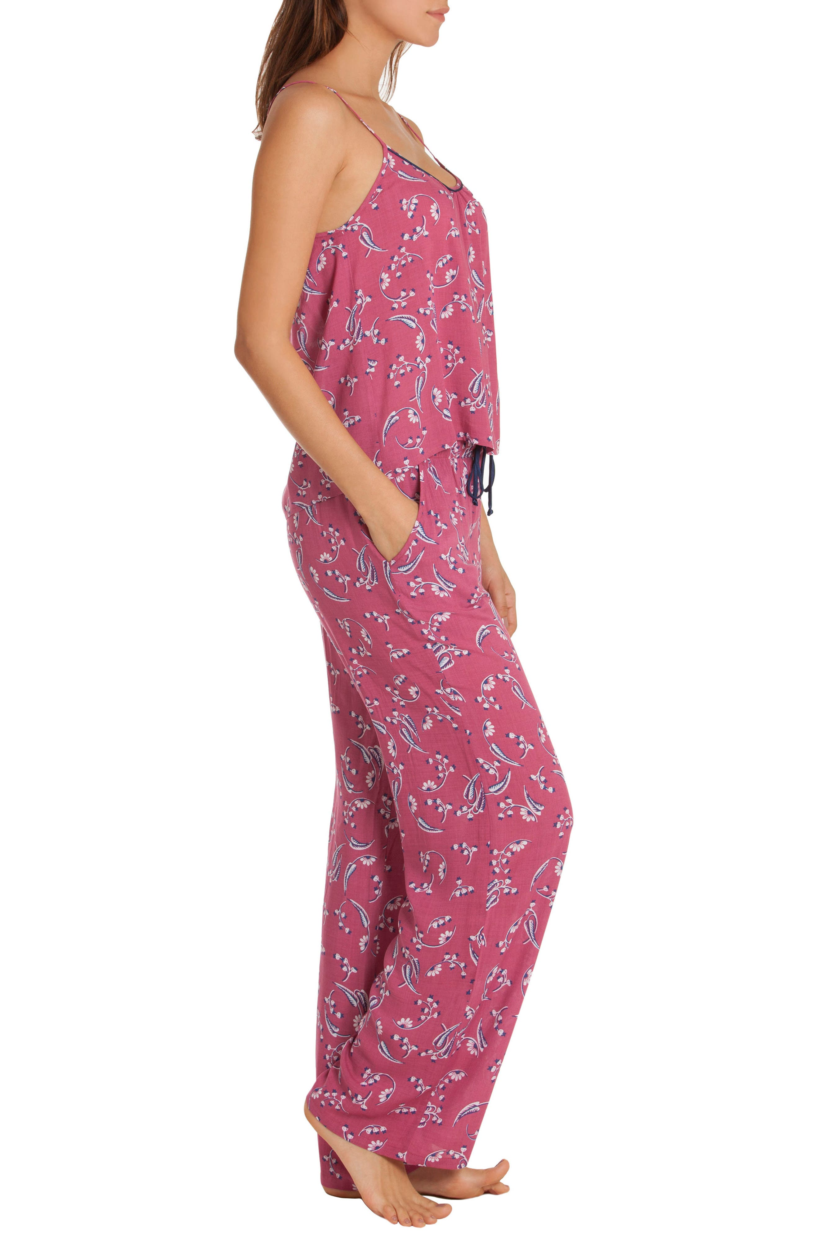 Floral Pajamas,                             Alternate thumbnail 3, color,
