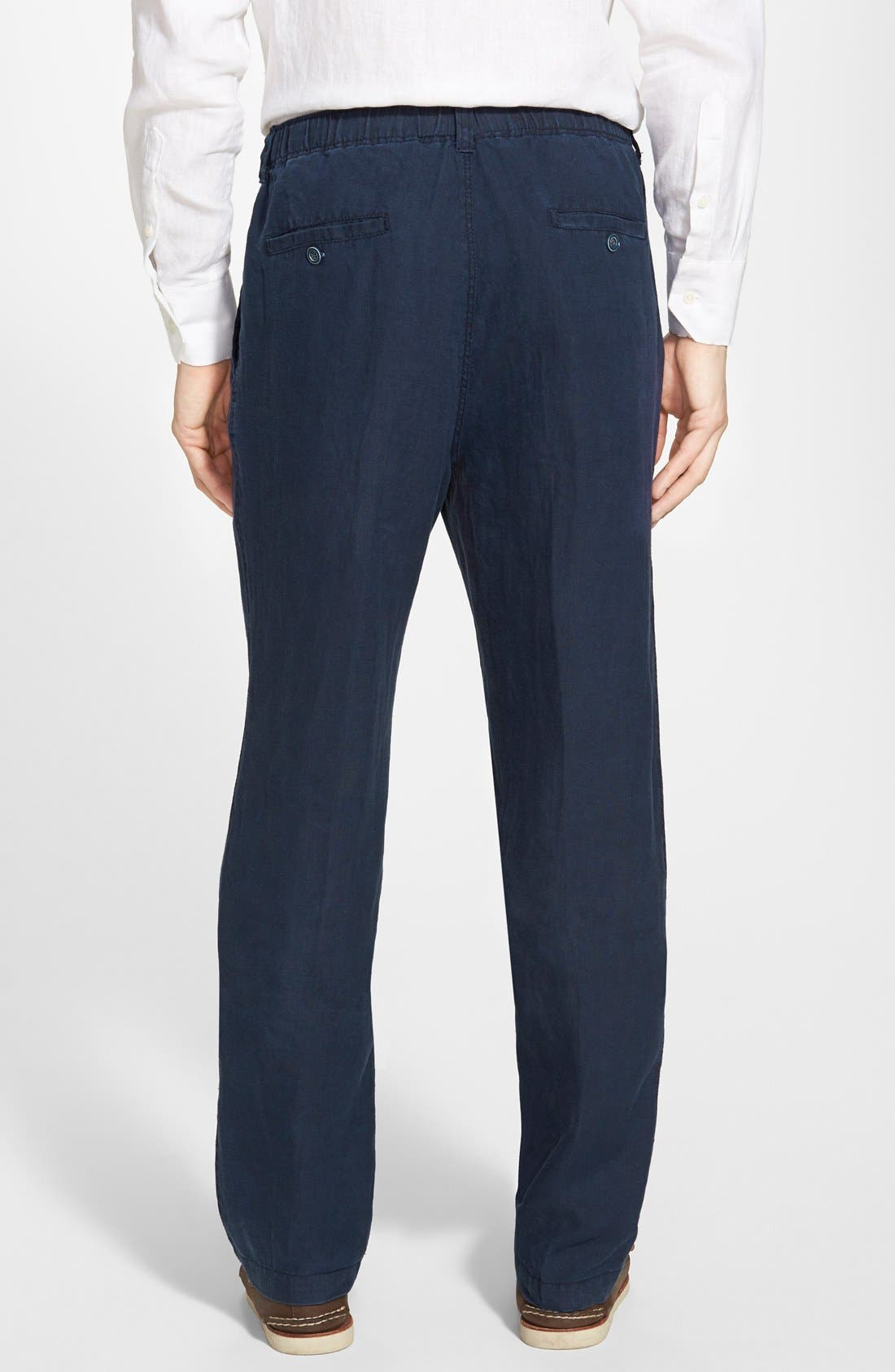 'New Linen on the Beach' Easy Fit Pants,                             Alternate thumbnail 15, color,