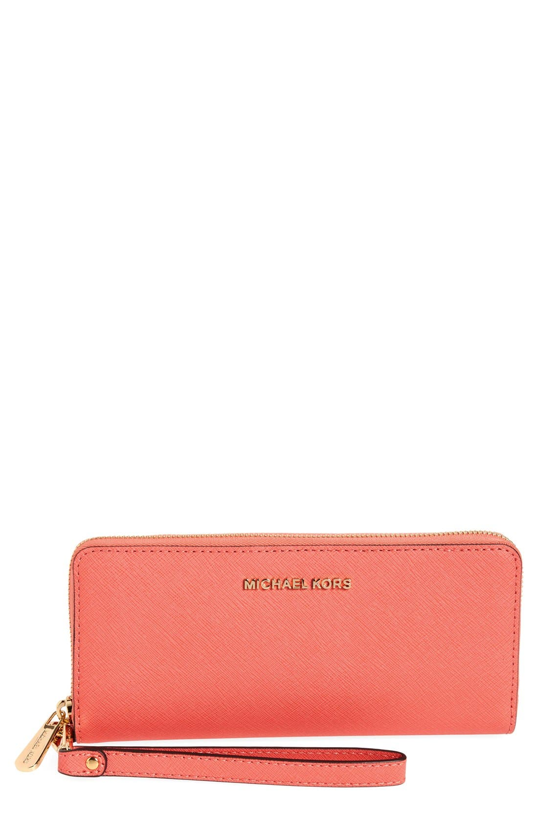 'Jet Set' Leather Travel Wallet,                             Main thumbnail 10, color,