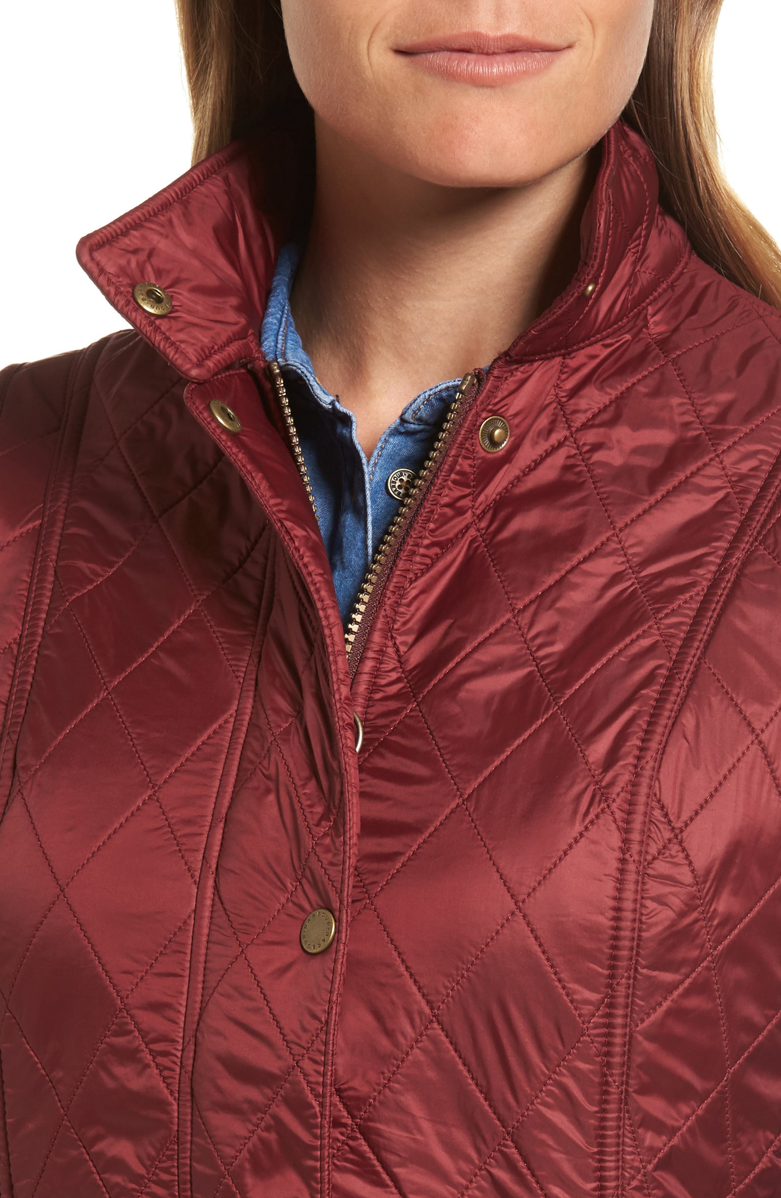 Wray Water Resistant Quilted Gilet,                             Alternate thumbnail 15, color,
