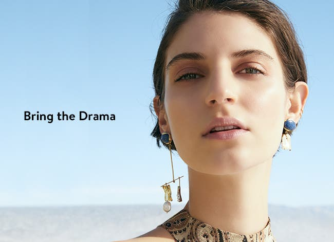 Bring the drama: women's accessories.