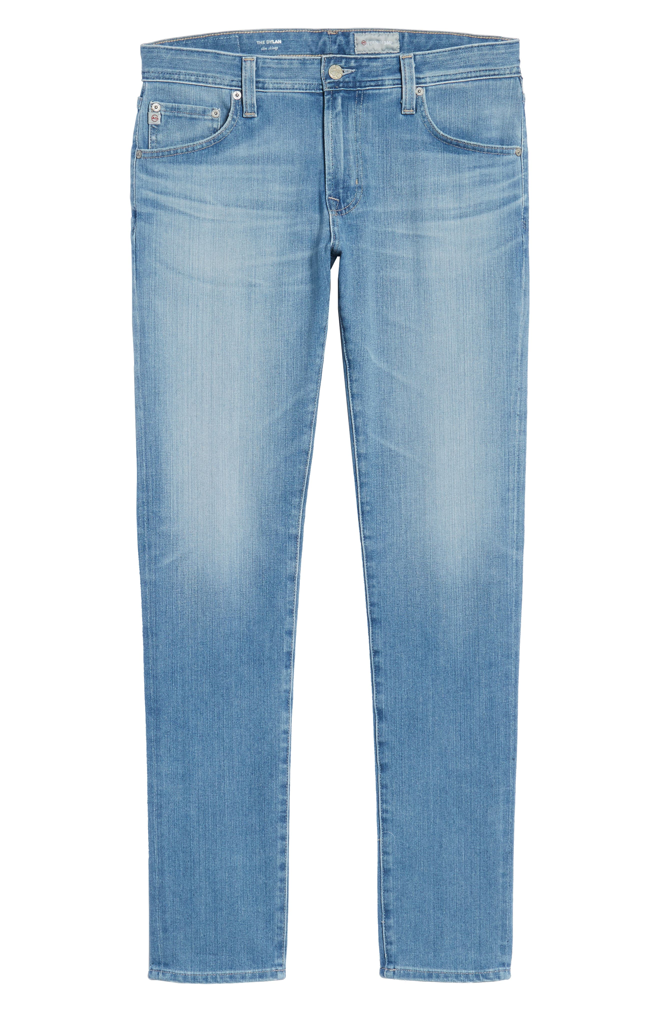 Dylan Skinny Fit Jeans,                             Alternate thumbnail 6, color,                             498