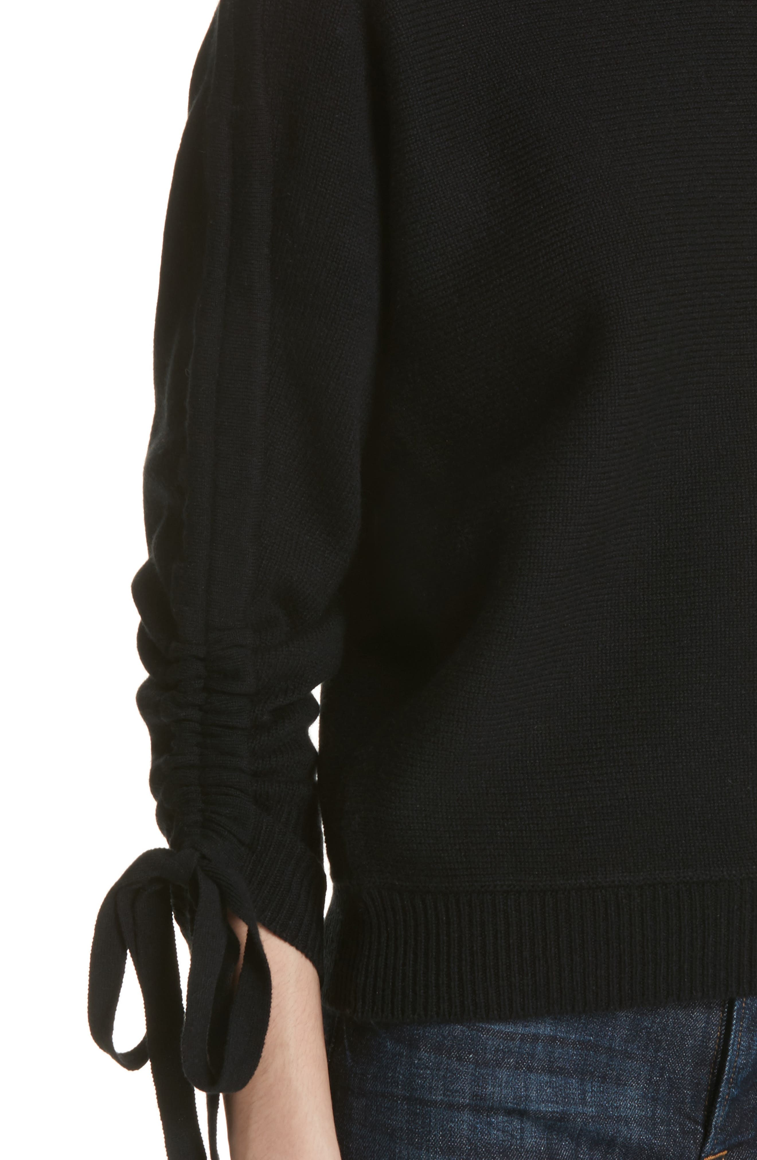 Dannee Wool & Cashmere Sweater,                             Alternate thumbnail 4, color,                             002