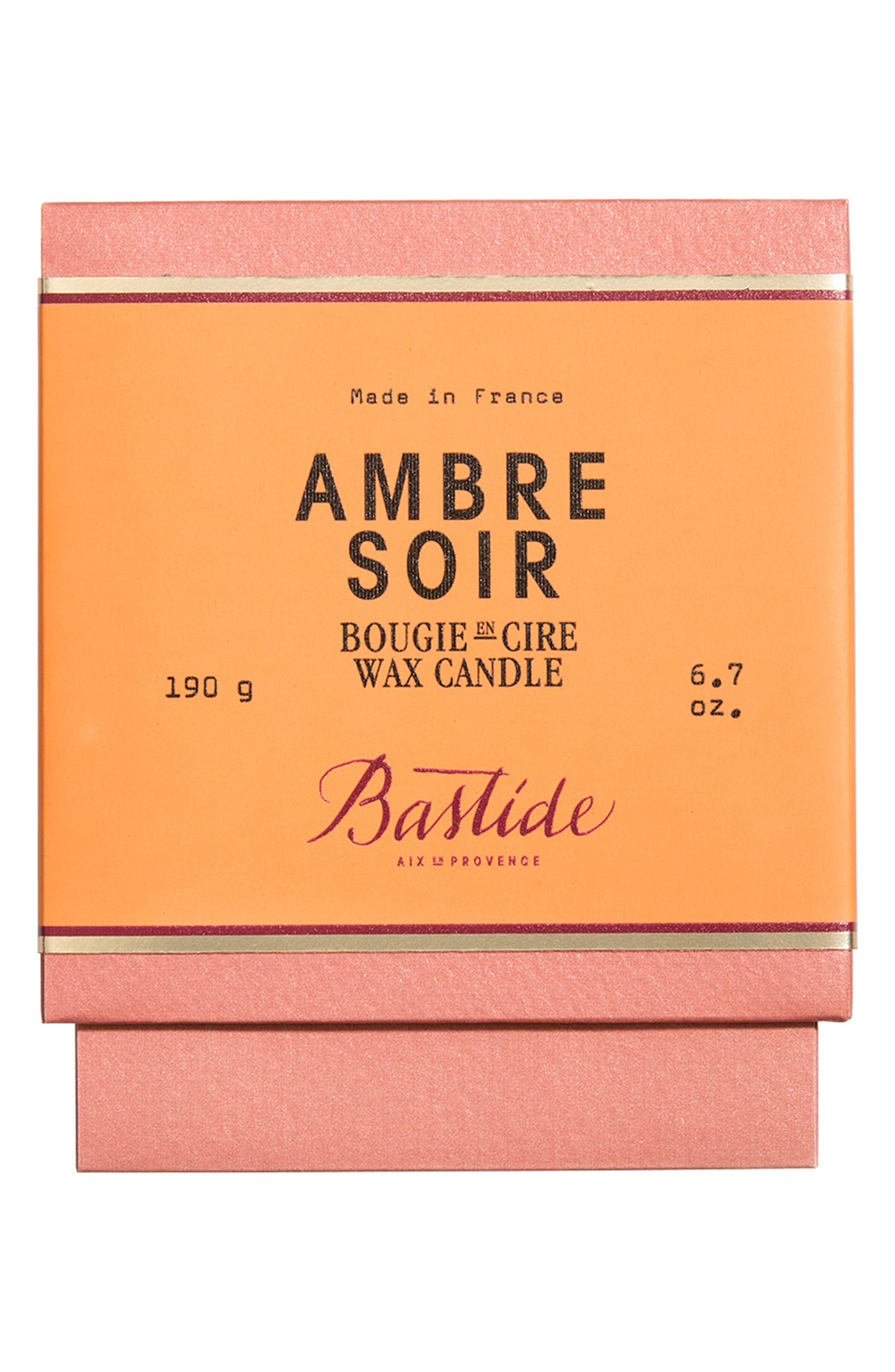 Candle,                             Alternate thumbnail 2, color,                             AMBRE SOIR