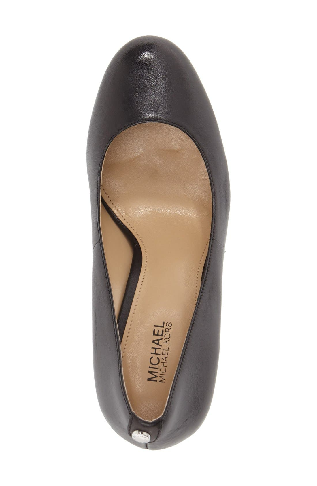 'Lucy - Flex' Round Toe Pump,                             Alternate thumbnail 7, color,