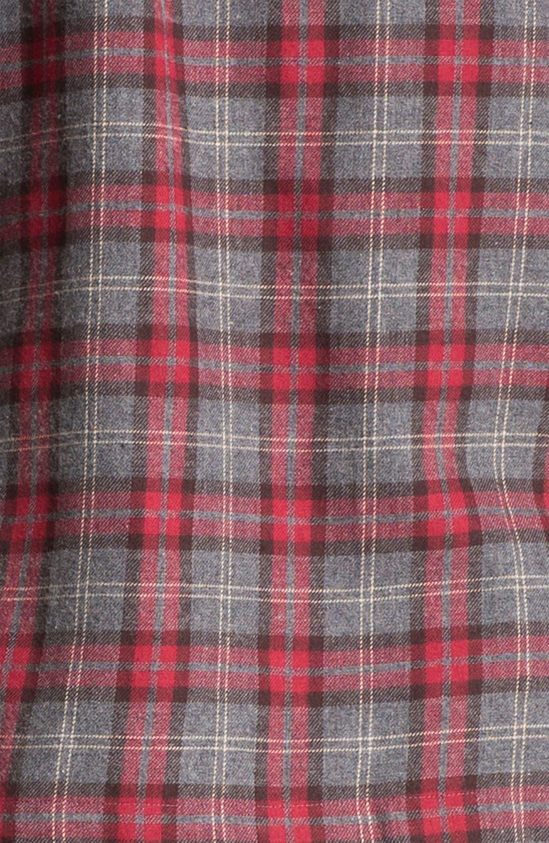 '824' Flannel Pajama Set,                             Alternate thumbnail 70, color,
