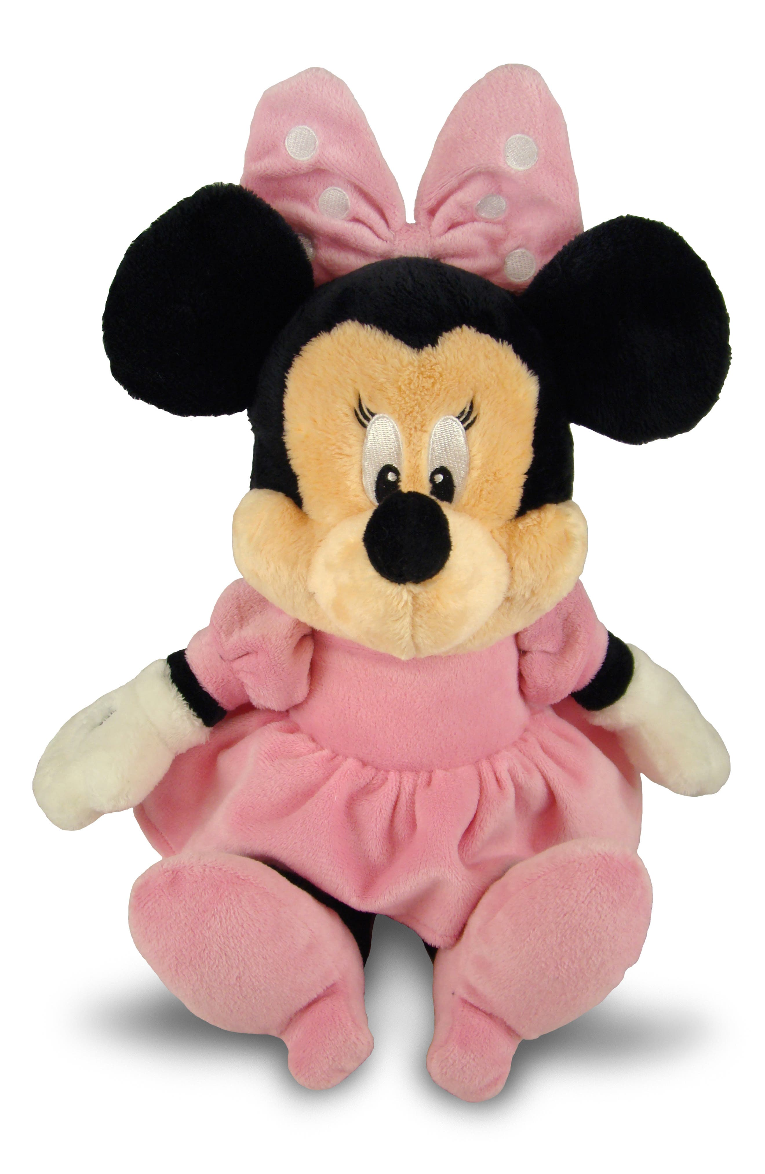 Minnie Mouse Plush Toy,                             Main thumbnail 1, color,                             PINK