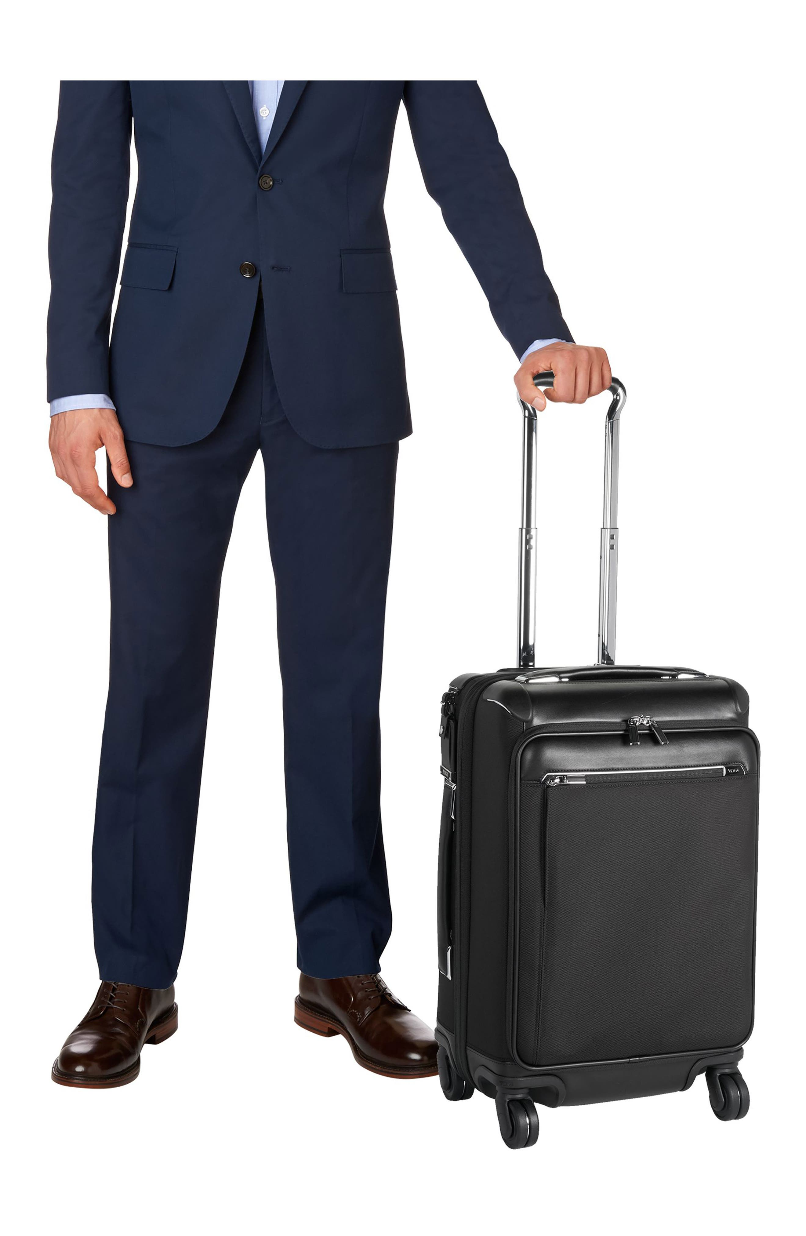 Gatwick 22-Inch International Expandable Carry-On,                             Alternate thumbnail 4, color,                             001