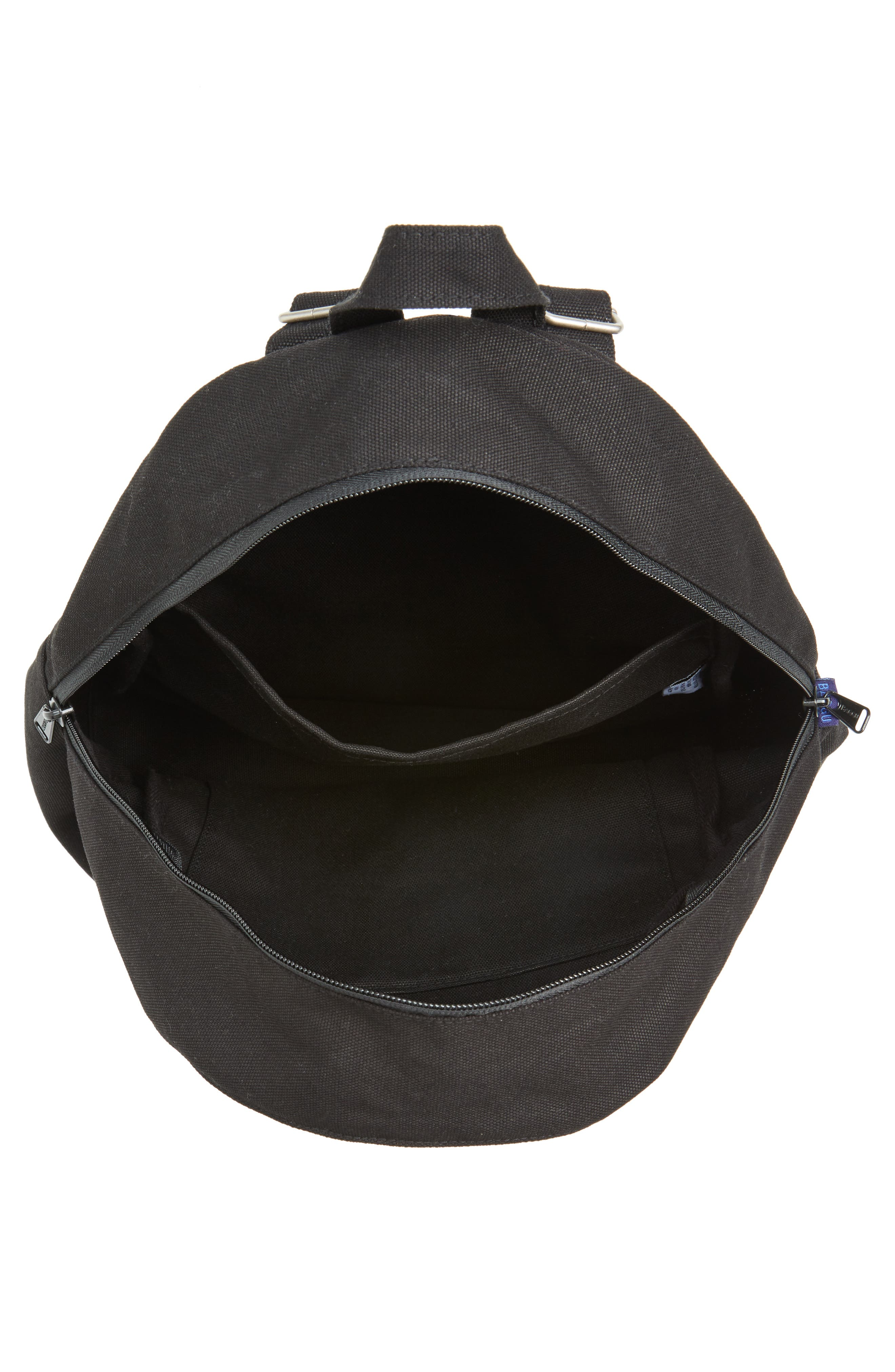 Canvas Backpack,                             Alternate thumbnail 4, color,                             001