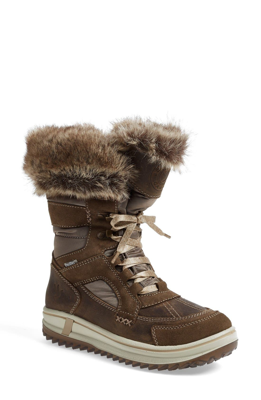 'Marta' Water Resistant Insulated Winter Boot,                             Main thumbnail 1, color,                             236