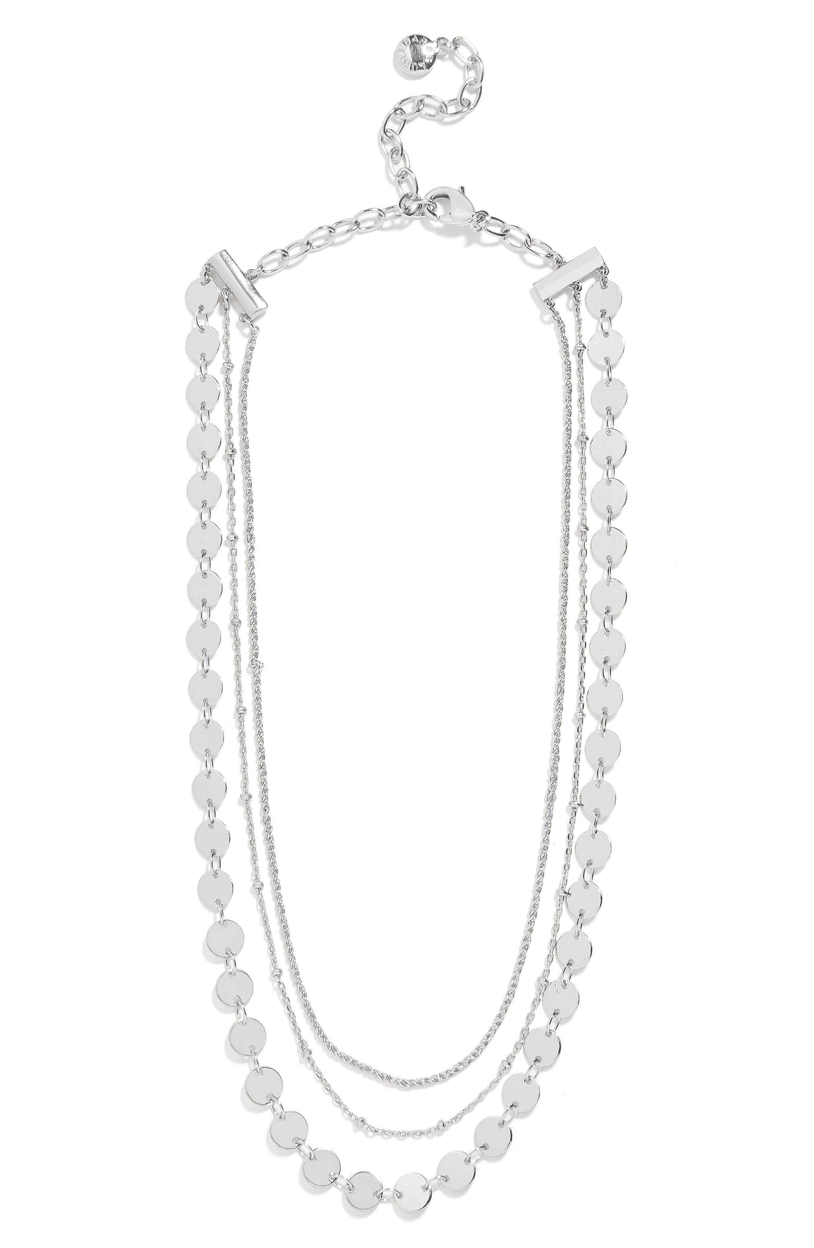 Sophia Layered Collar Necklace,                             Alternate thumbnail 2, color,                             040