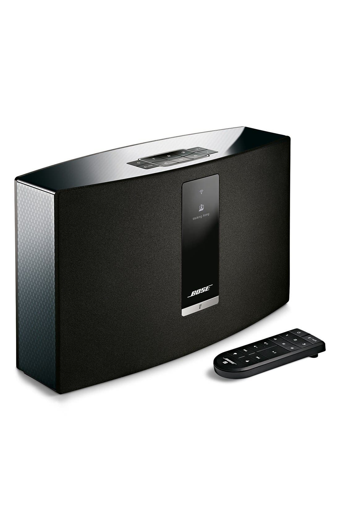 SoundTouch<sup>®</sup> 20 Series III Wireless Music System,                             Alternate thumbnail 2, color,                             BLACK