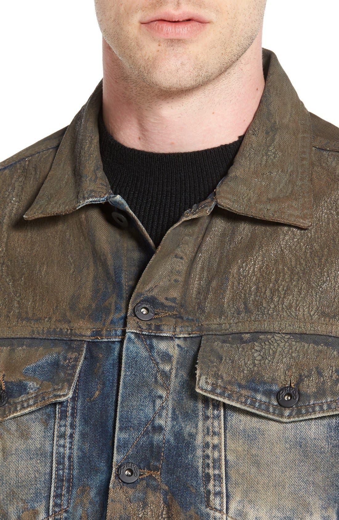 Mud Denim Jacket,                             Alternate thumbnail 2, color,                             490