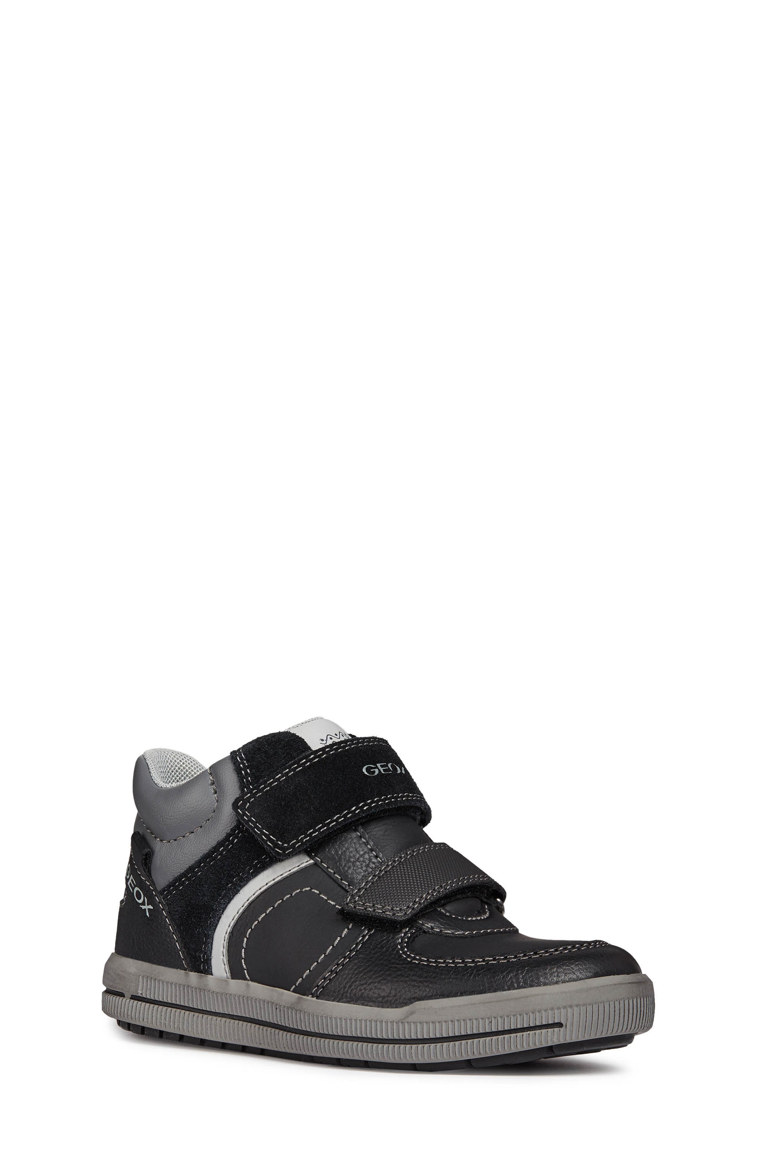 Arzach High-Top Sneaker,                         Main,                         color, BLACK/DARK GREY