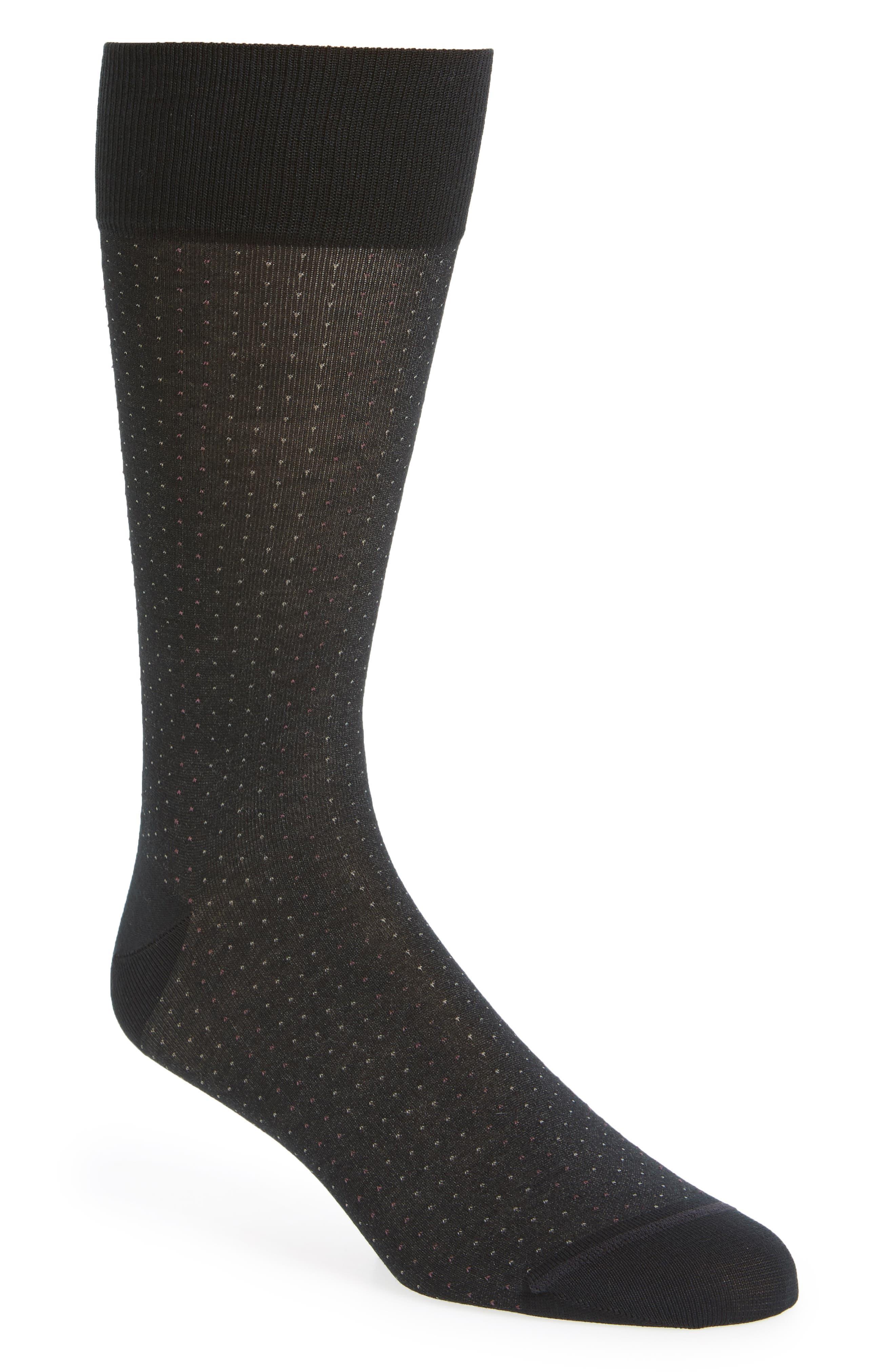 Birdseye Socks,                         Main,                         color, 001