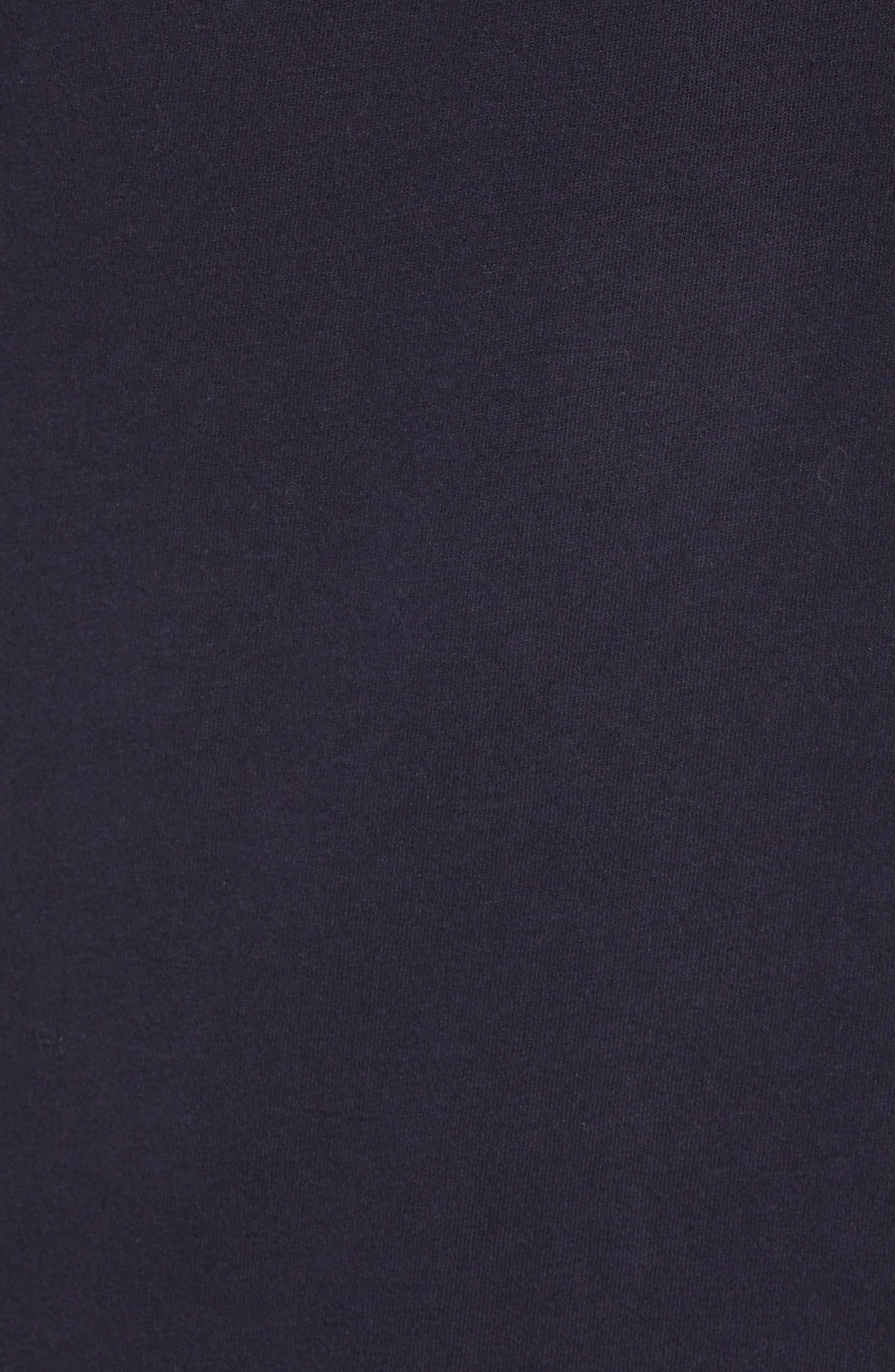 Decks Regular Fit Cotton T-Shirt,                             Alternate thumbnail 5, color,                             UTILITY BLUE BLACK