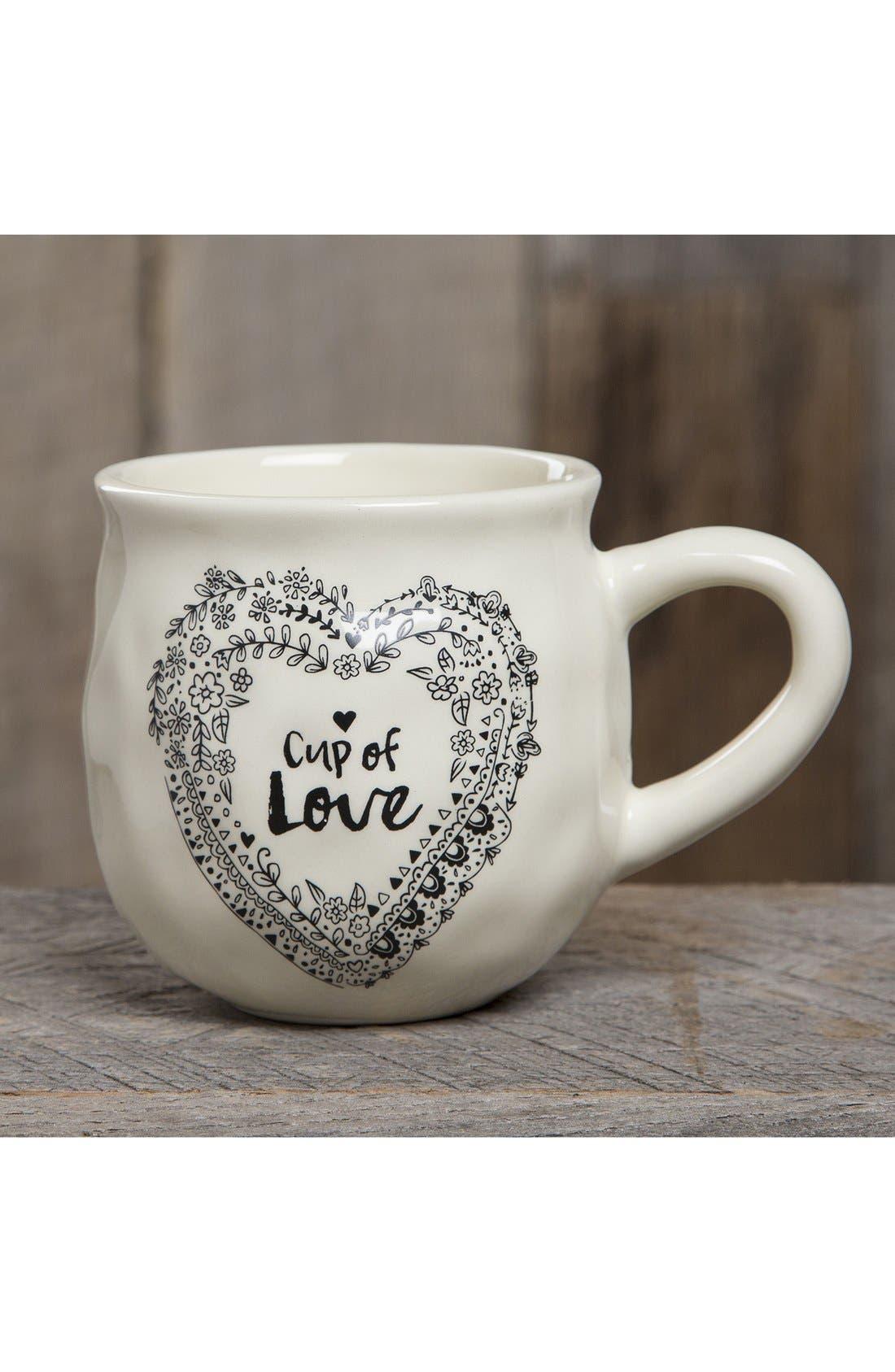 'Happy Mug - Cup of Love' Ceramic Mug,                             Alternate thumbnail 2, color,                             900