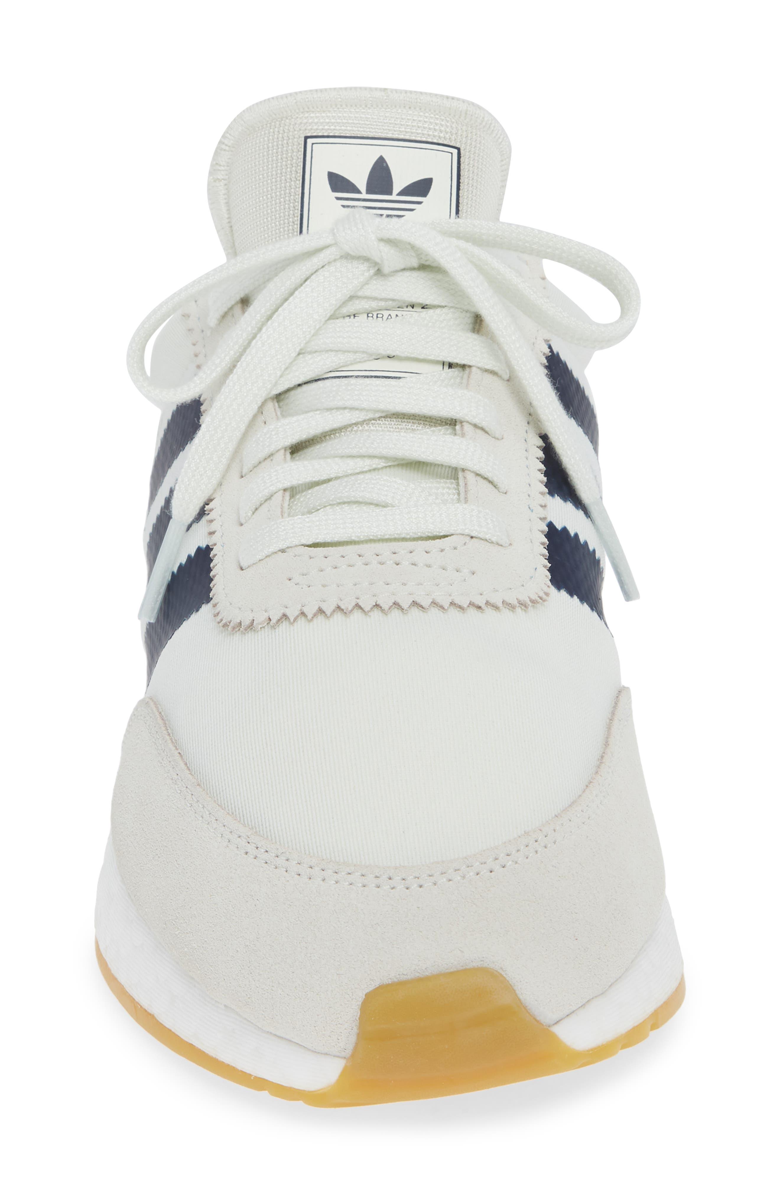 I-5923 Sneaker,                             Alternate thumbnail 4, color,                             WHITE/ GREY/ GUM