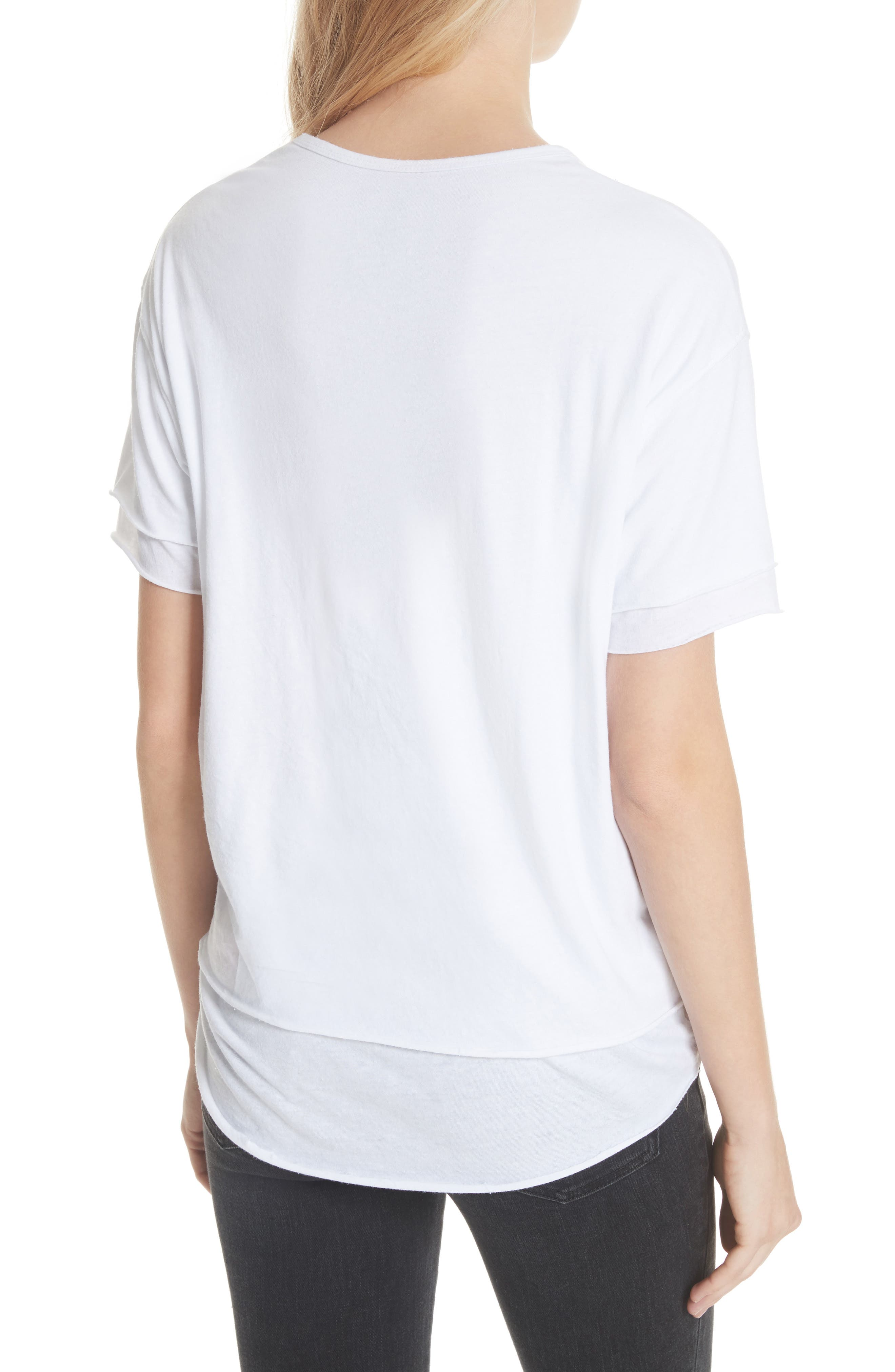 We the Free by Free People Cloud Nine Tee,                             Alternate thumbnail 8, color,