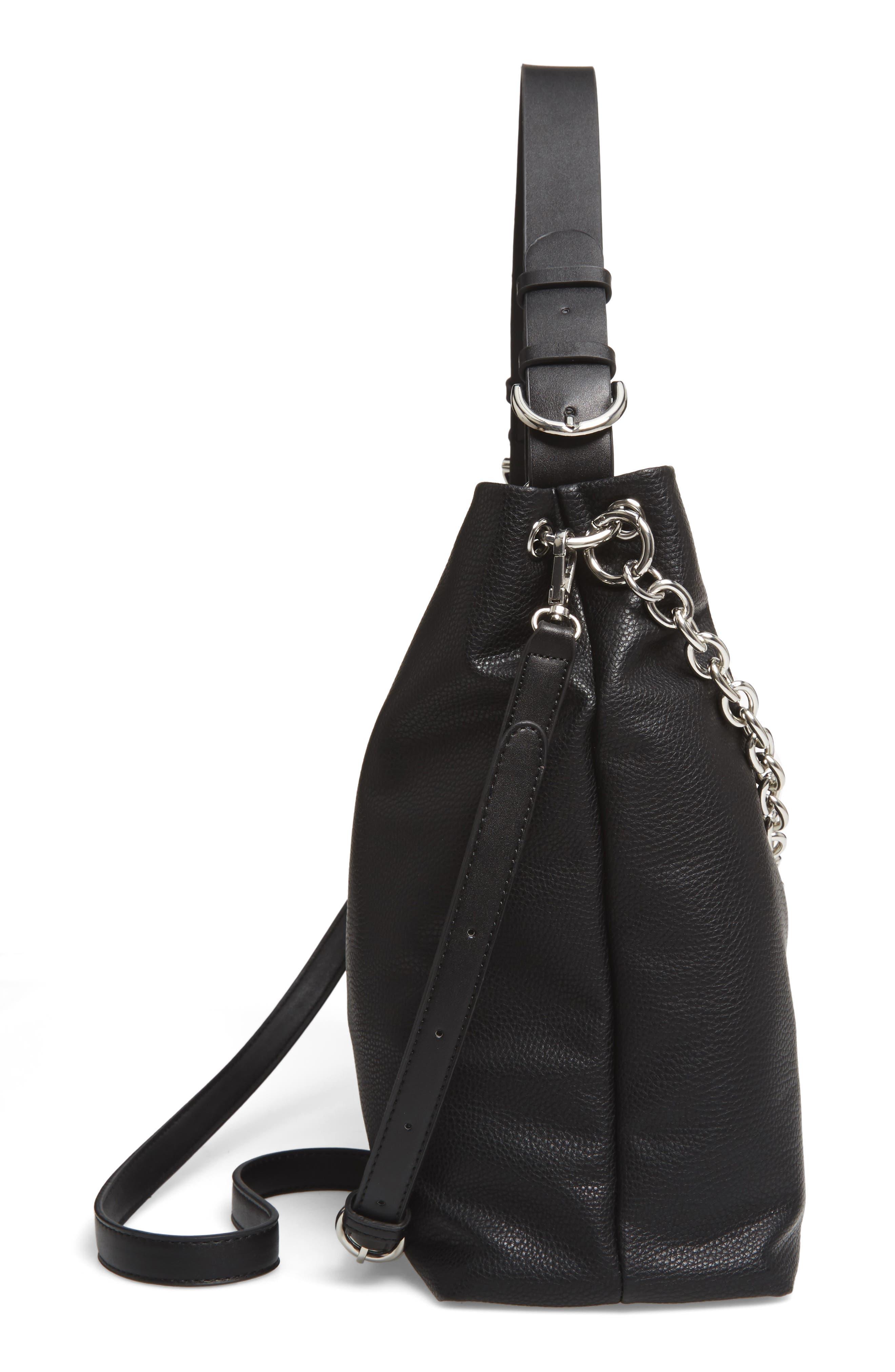 Taylor Faux Leather Shoulder Bag,                             Alternate thumbnail 13, color,
