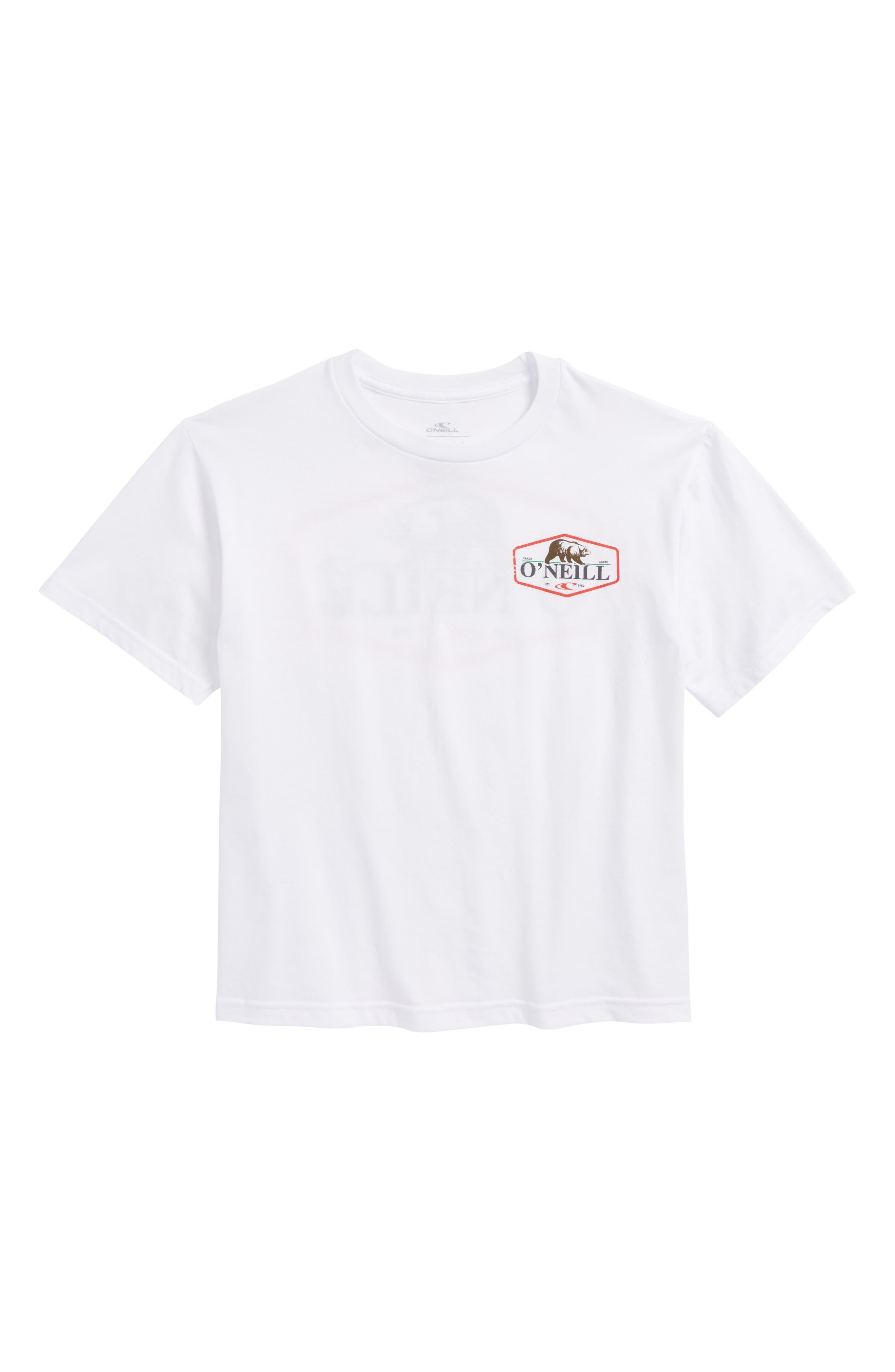 Grizzly Bear Logo Screenprint T-Shirt,                             Main thumbnail 3, color,