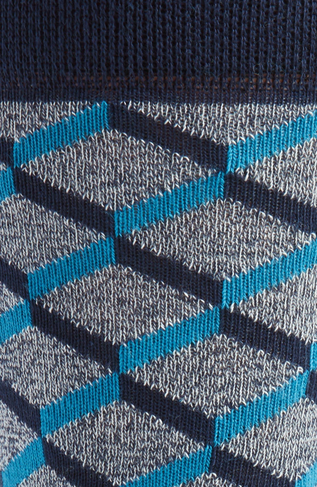 Geometric Socks,                             Alternate thumbnail 2, color,                             410