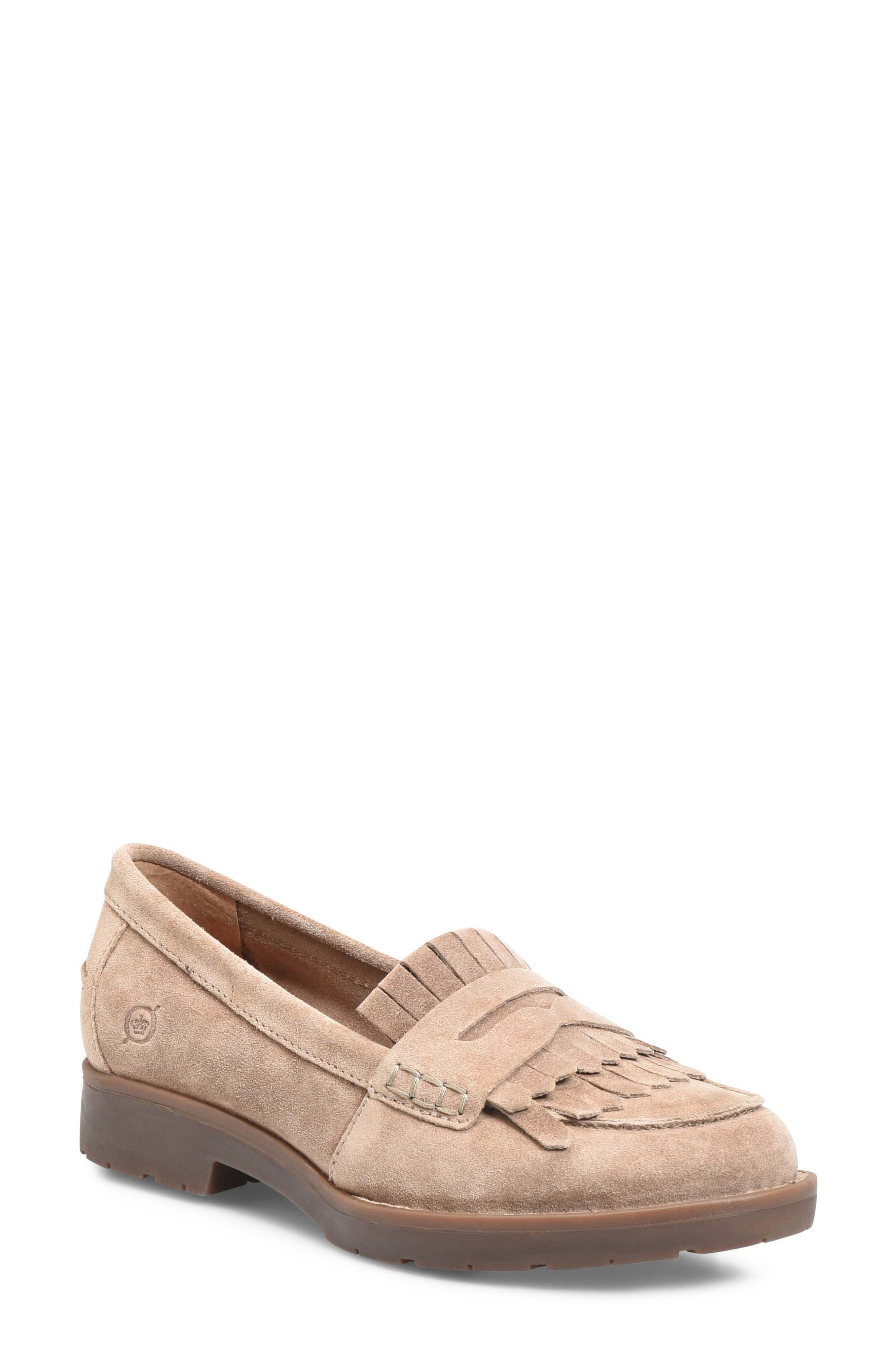 Lorens Loafer,                             Main thumbnail 1, color,                             TAUPE SUEDE