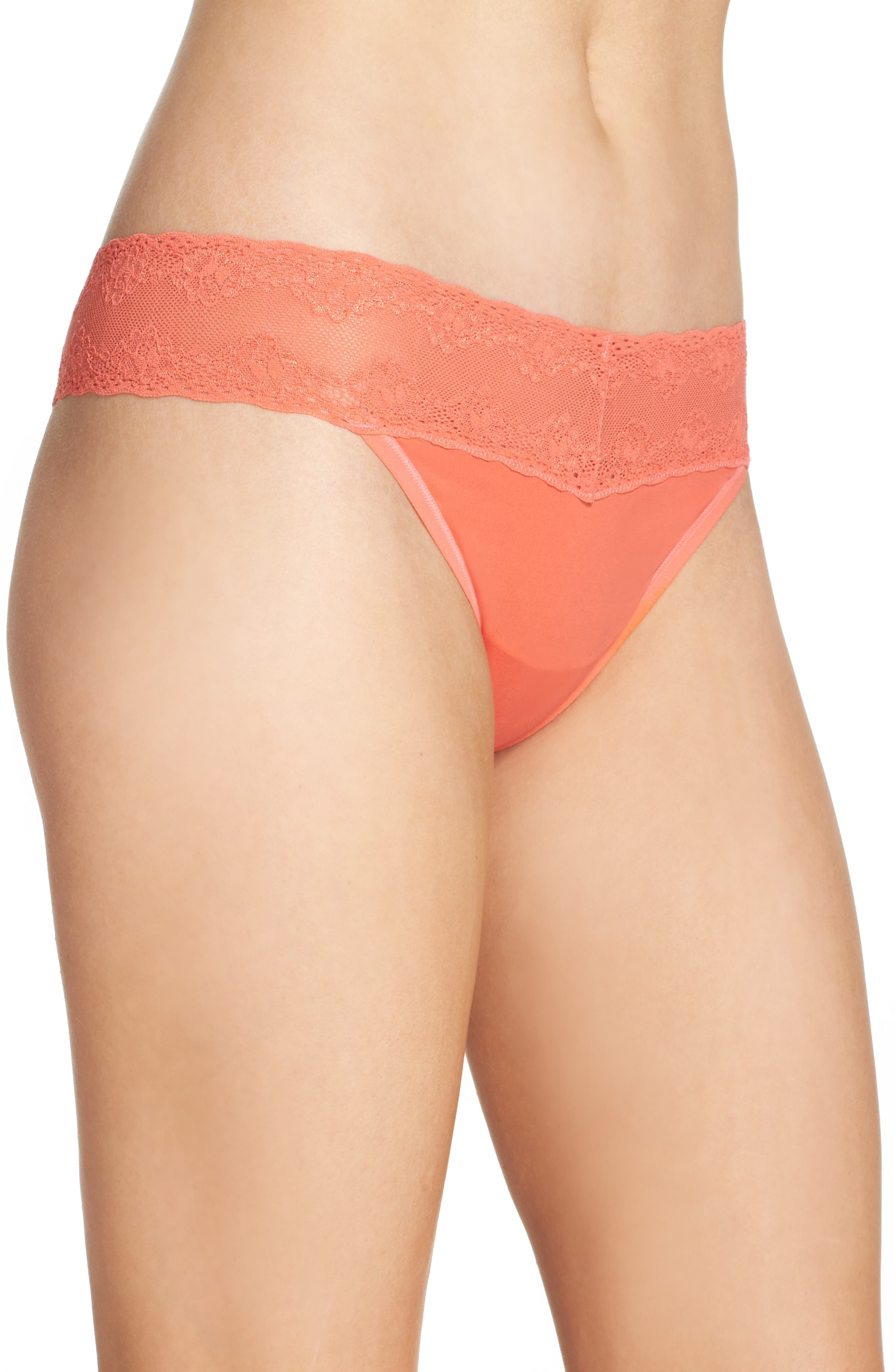 Bliss Perfection Thong,                             Alternate thumbnail 291, color,