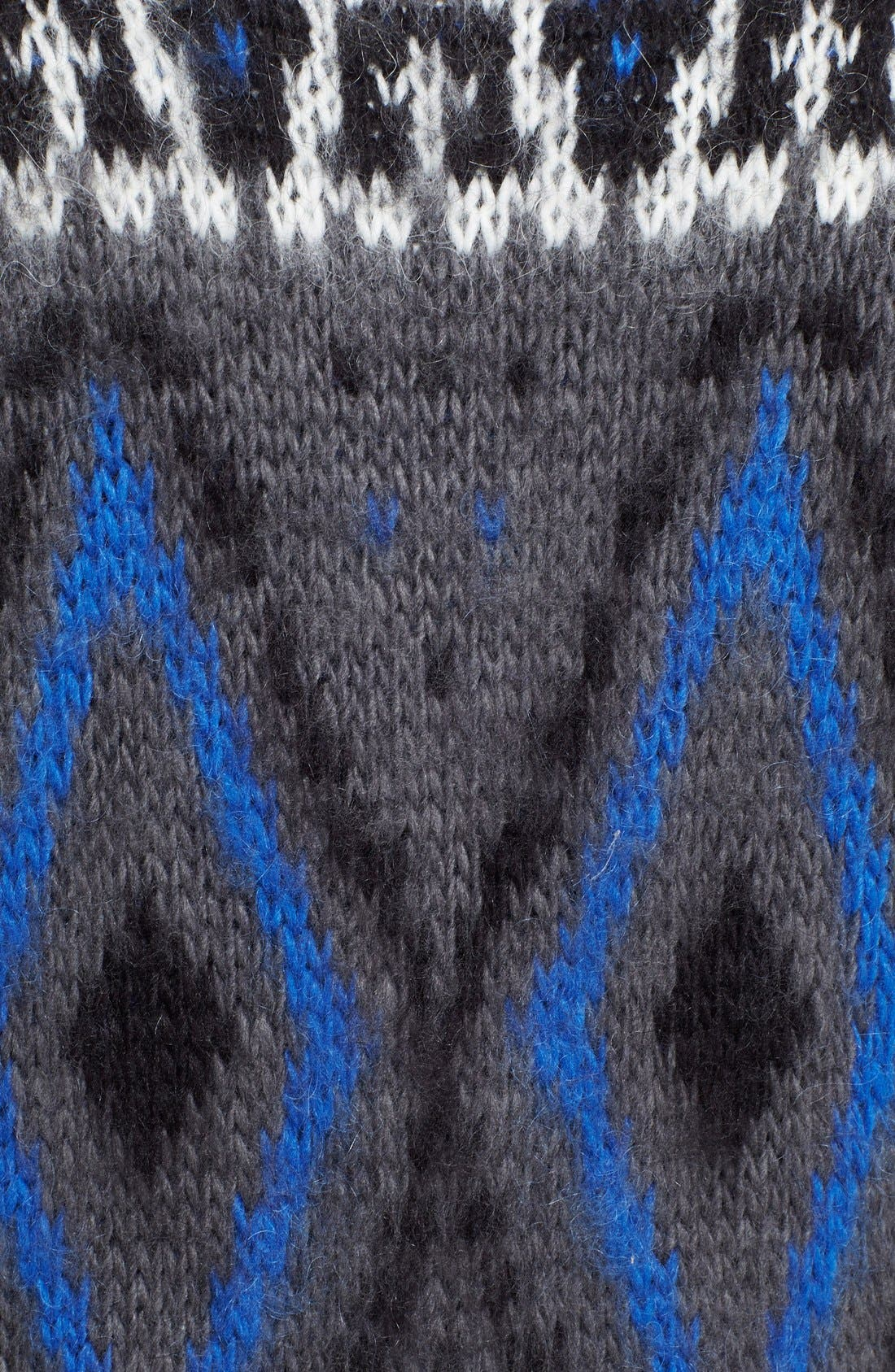 Frosted Fair Isle Cardigan,                             Alternate thumbnail 3, color,                             020