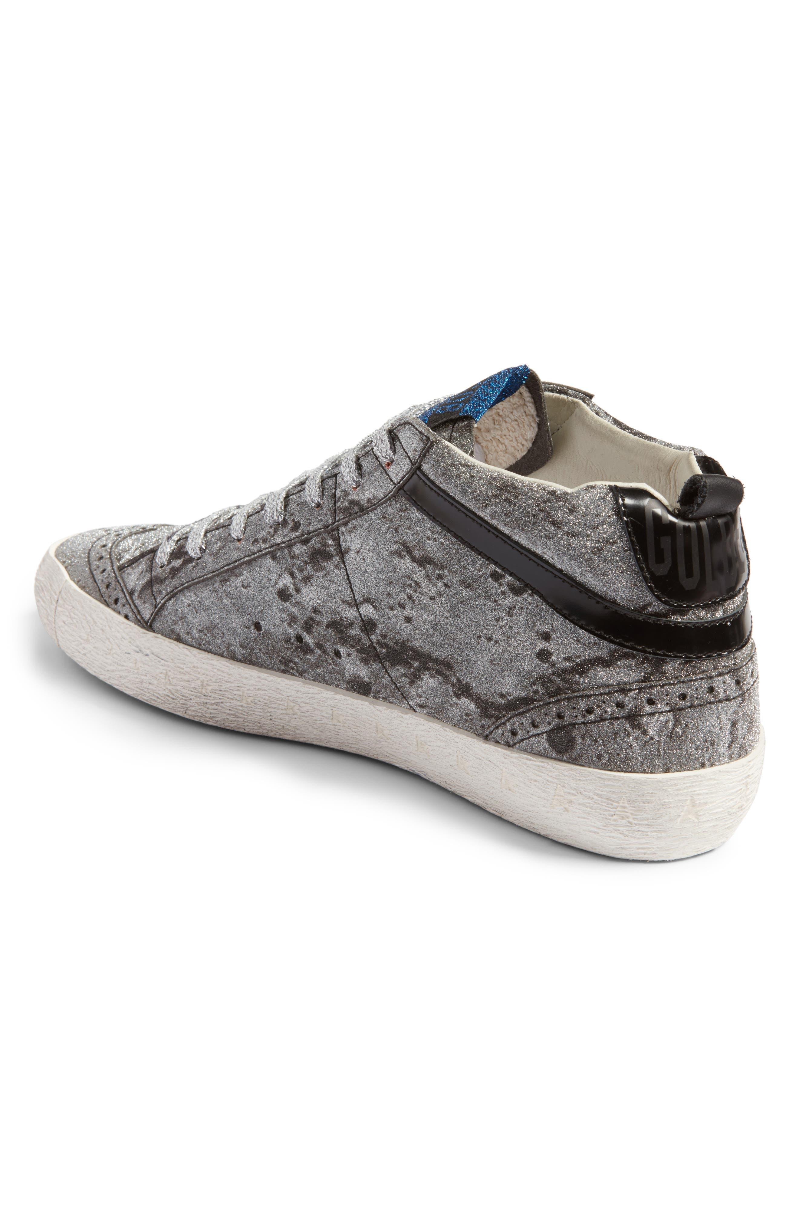 Mid Star Glitter Sneaker,                             Alternate thumbnail 2, color,                             040