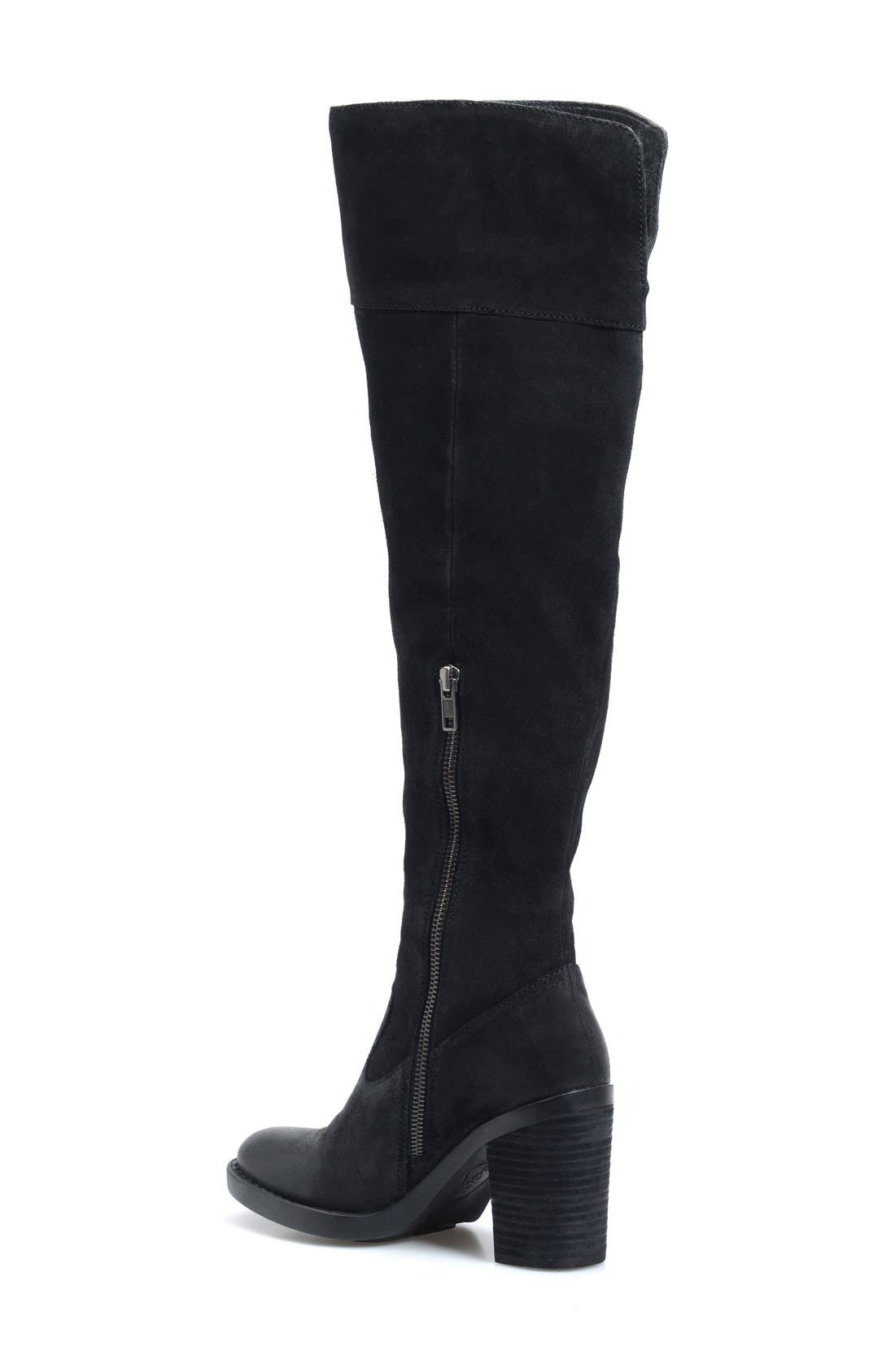 'Kathleen' Over the Knee Boot,                             Alternate thumbnail 2, color,                             001