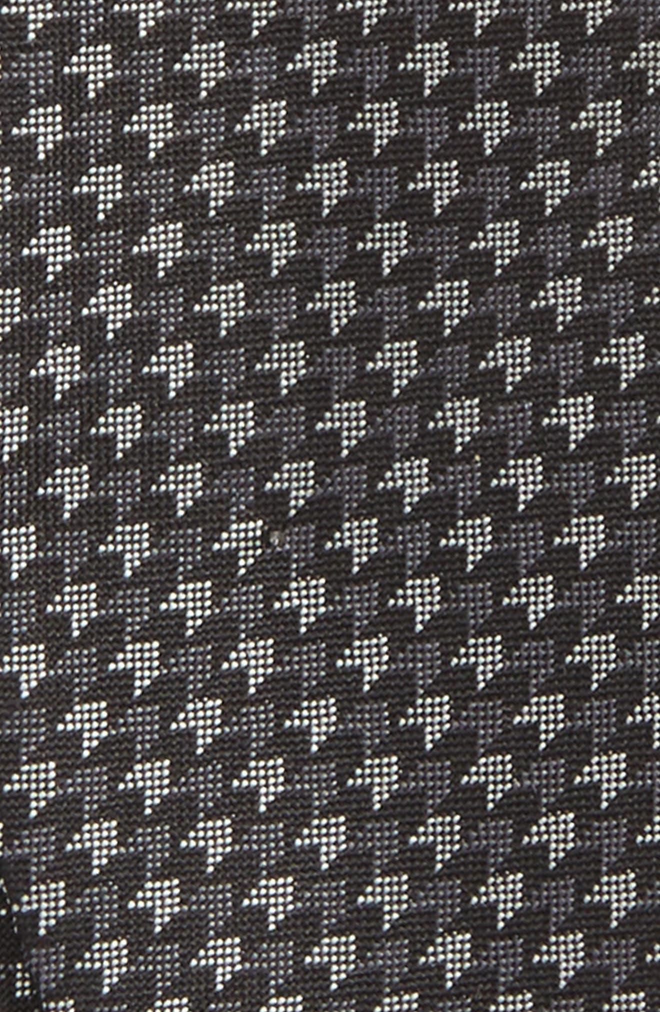 One Way Geometric Silk Bow Tie,                             Alternate thumbnail 3, color,                             001