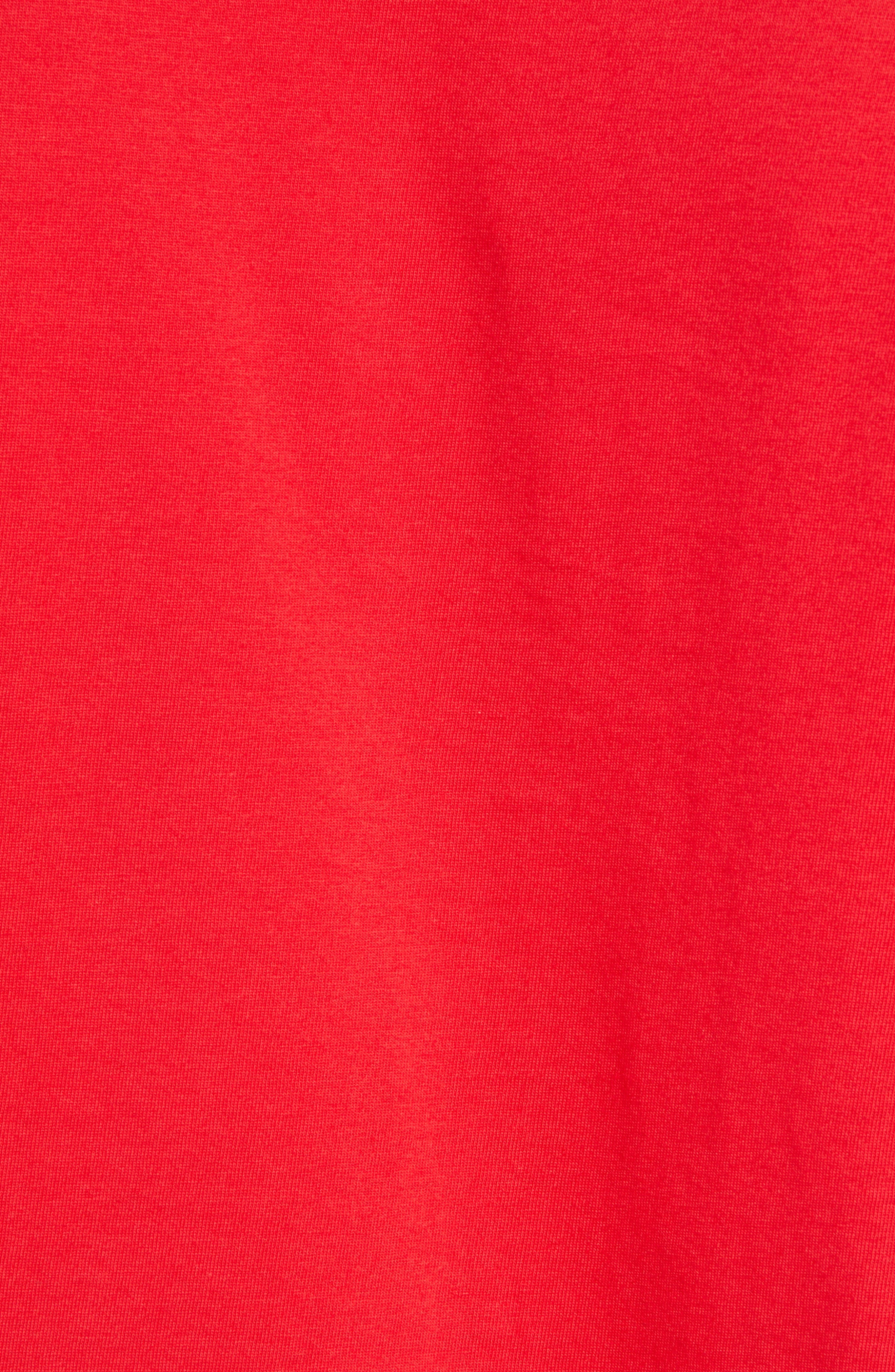 Cultural Rigor Mortis Premium T-Shirt,                             Alternate thumbnail 5, color,                             RED