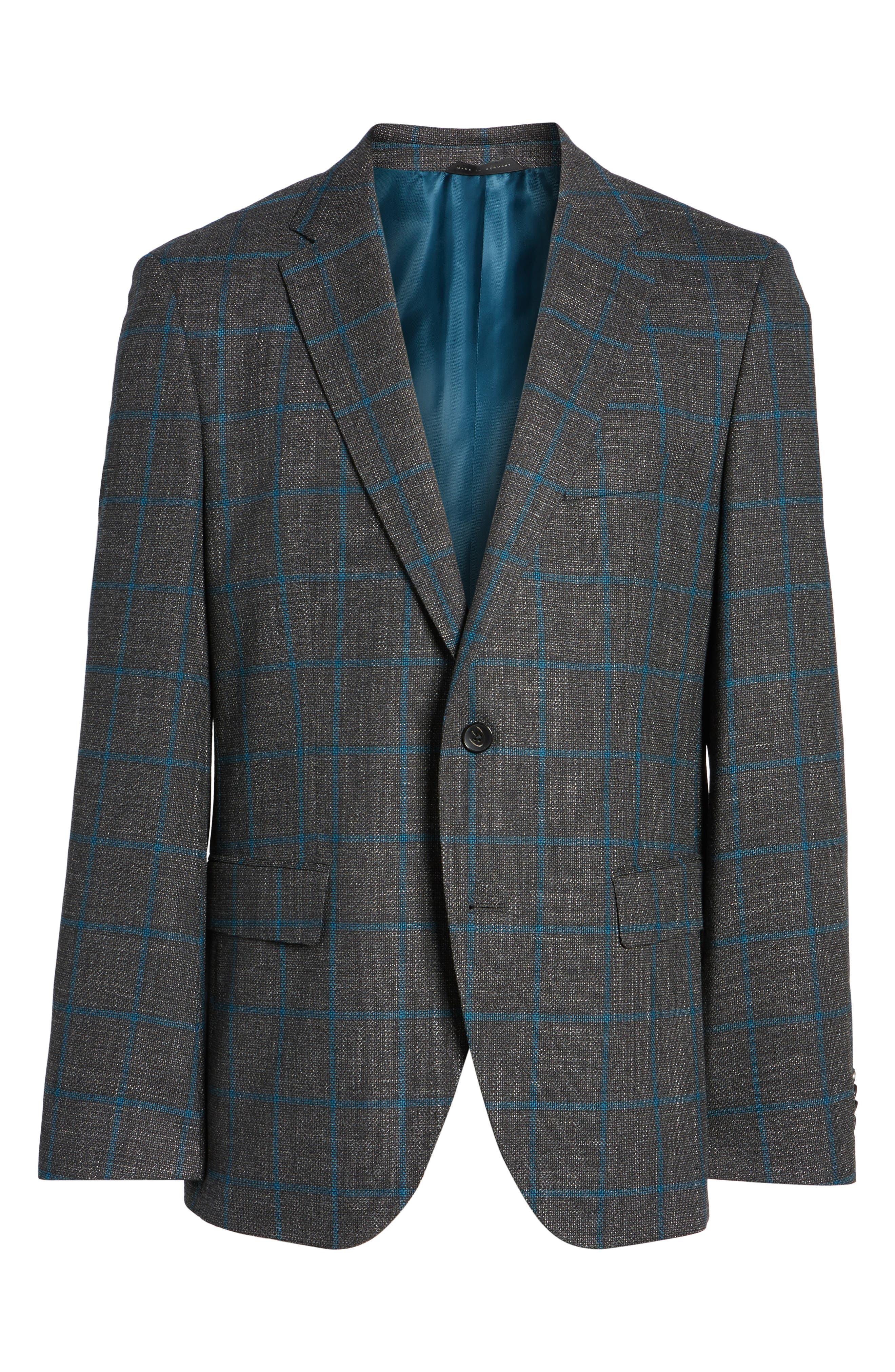 Jeen Classic Fit Wool Sport Coat,                             Alternate thumbnail 5, color,                             061