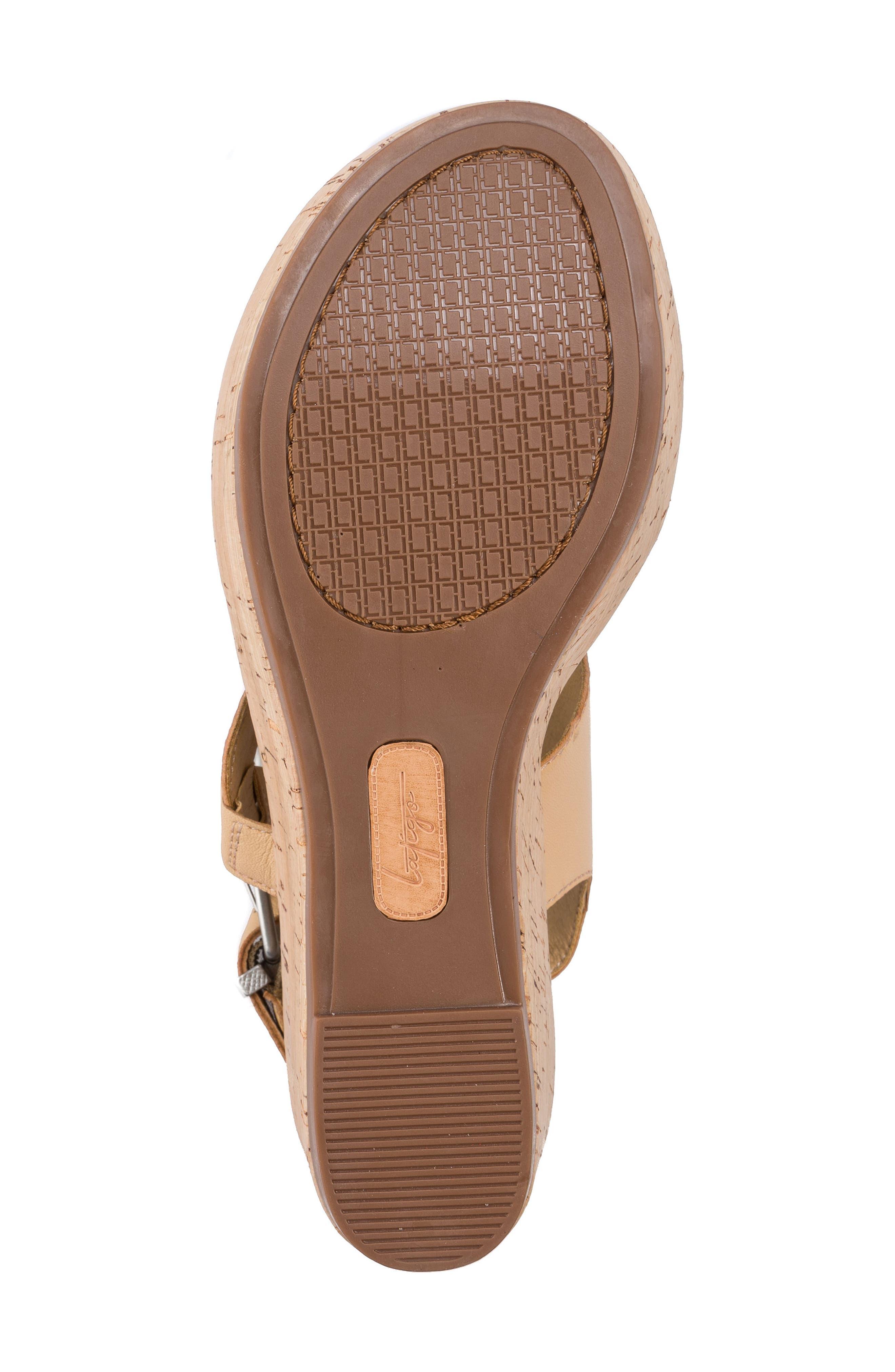 Lauren Platform Wedge Sandal,                             Alternate thumbnail 12, color,