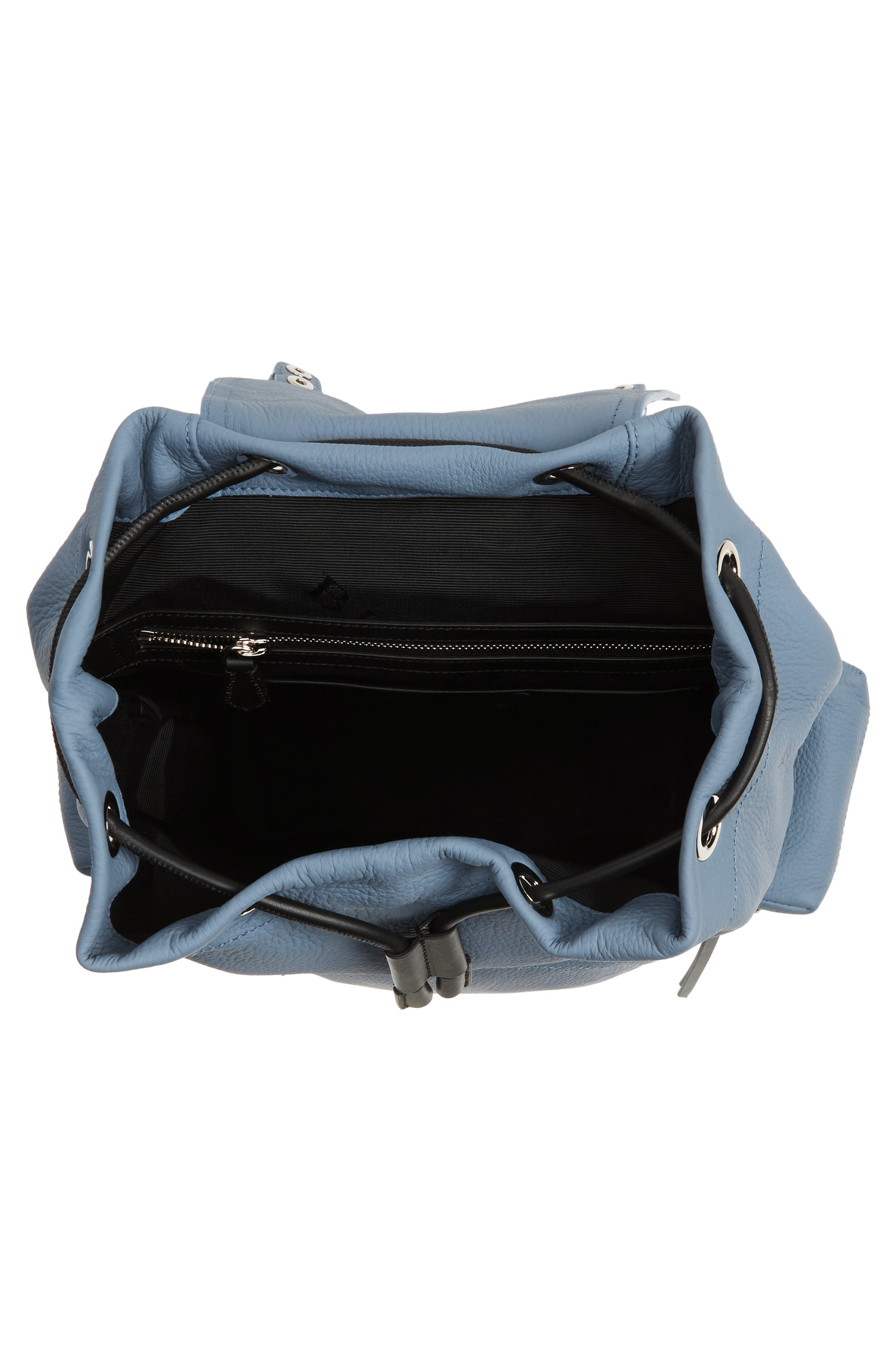 Medium Rucksack Deerskin Backpack,                             Alternate thumbnail 4, color,                             427