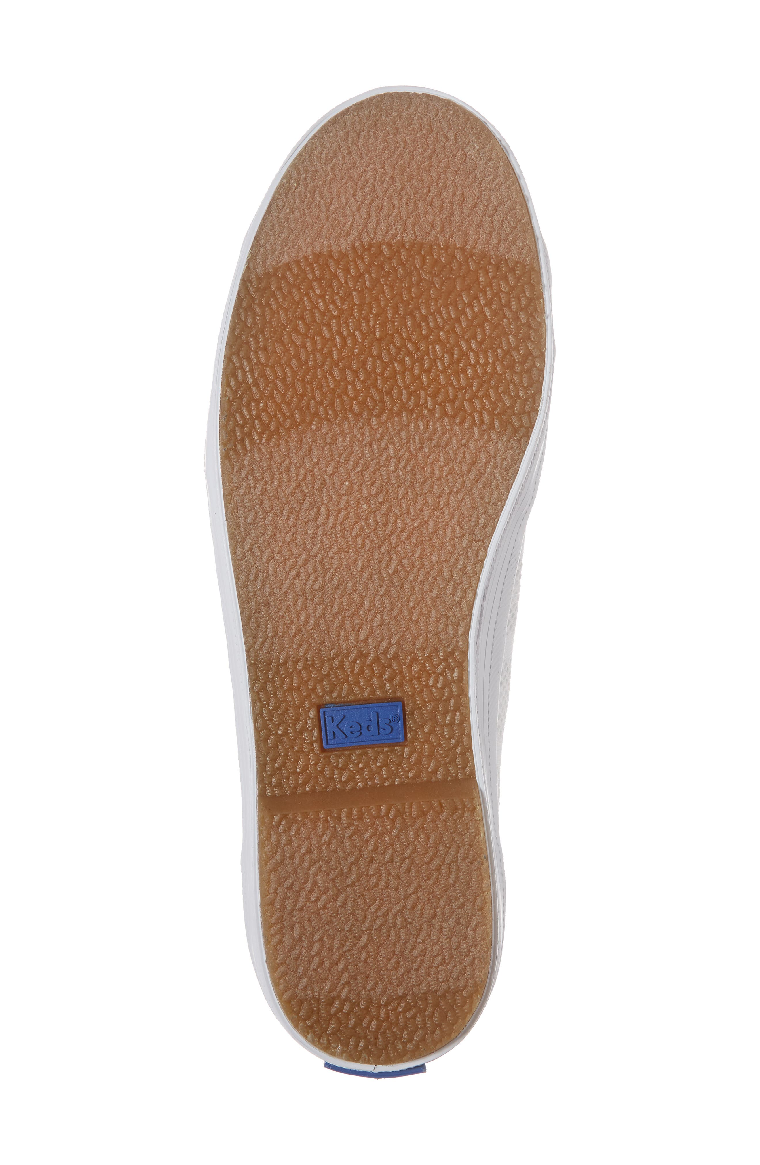 Kickstart Stripe Mesh Sneaker,                             Alternate thumbnail 6, color,                             100