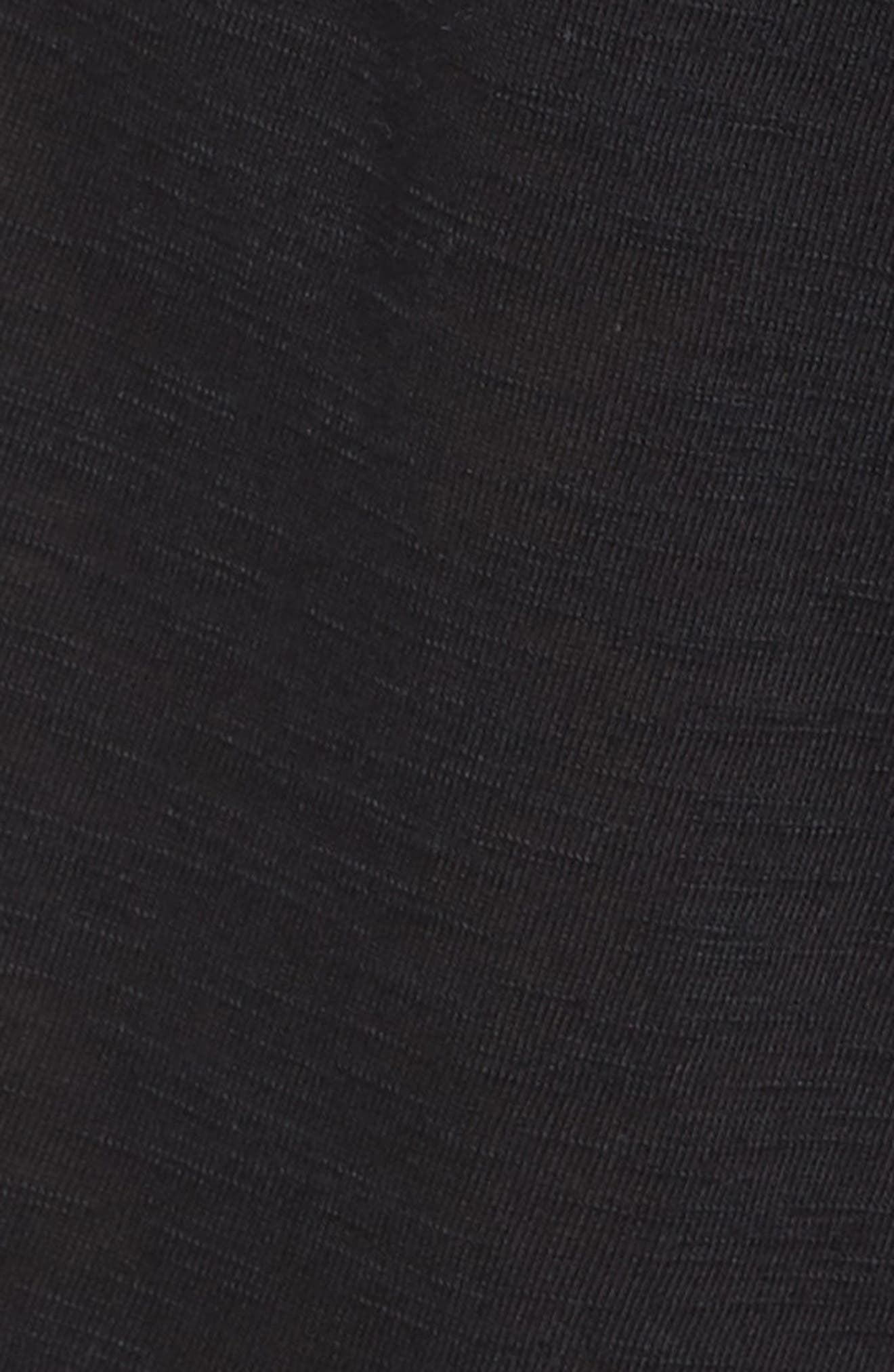 Breezy Basics Jumpsuit,                             Alternate thumbnail 5, color,                             BLACK
