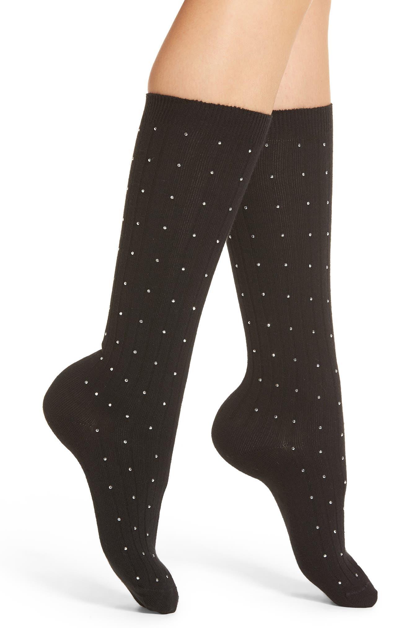 Tiny Diamantes Socks,                         Main,                         color,