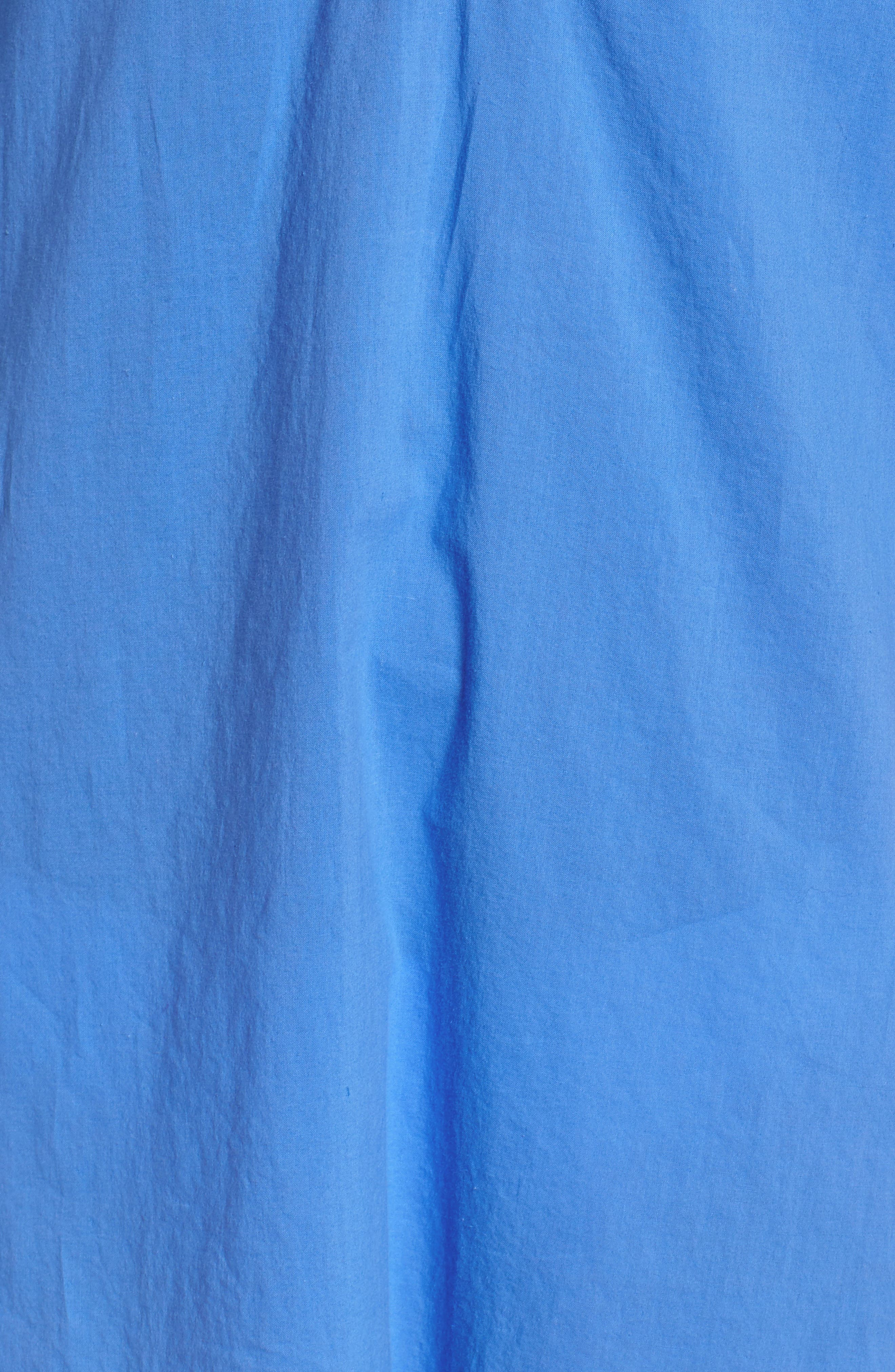 Piet Cover-Up,                             Alternate thumbnail 6, color,                             BENNET BLUE