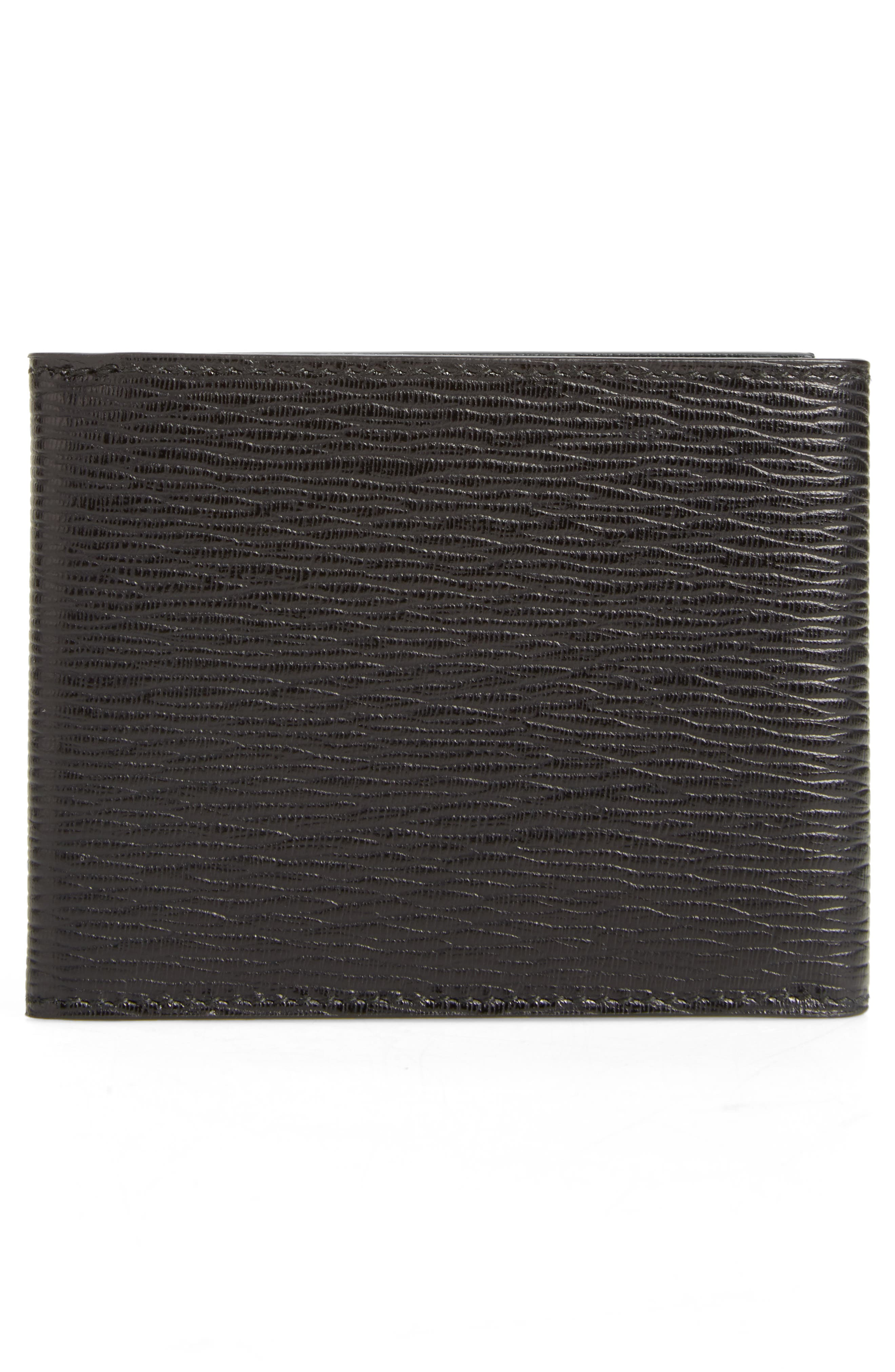 Revival Leather Wallet,                             Alternate thumbnail 3, color,                             001