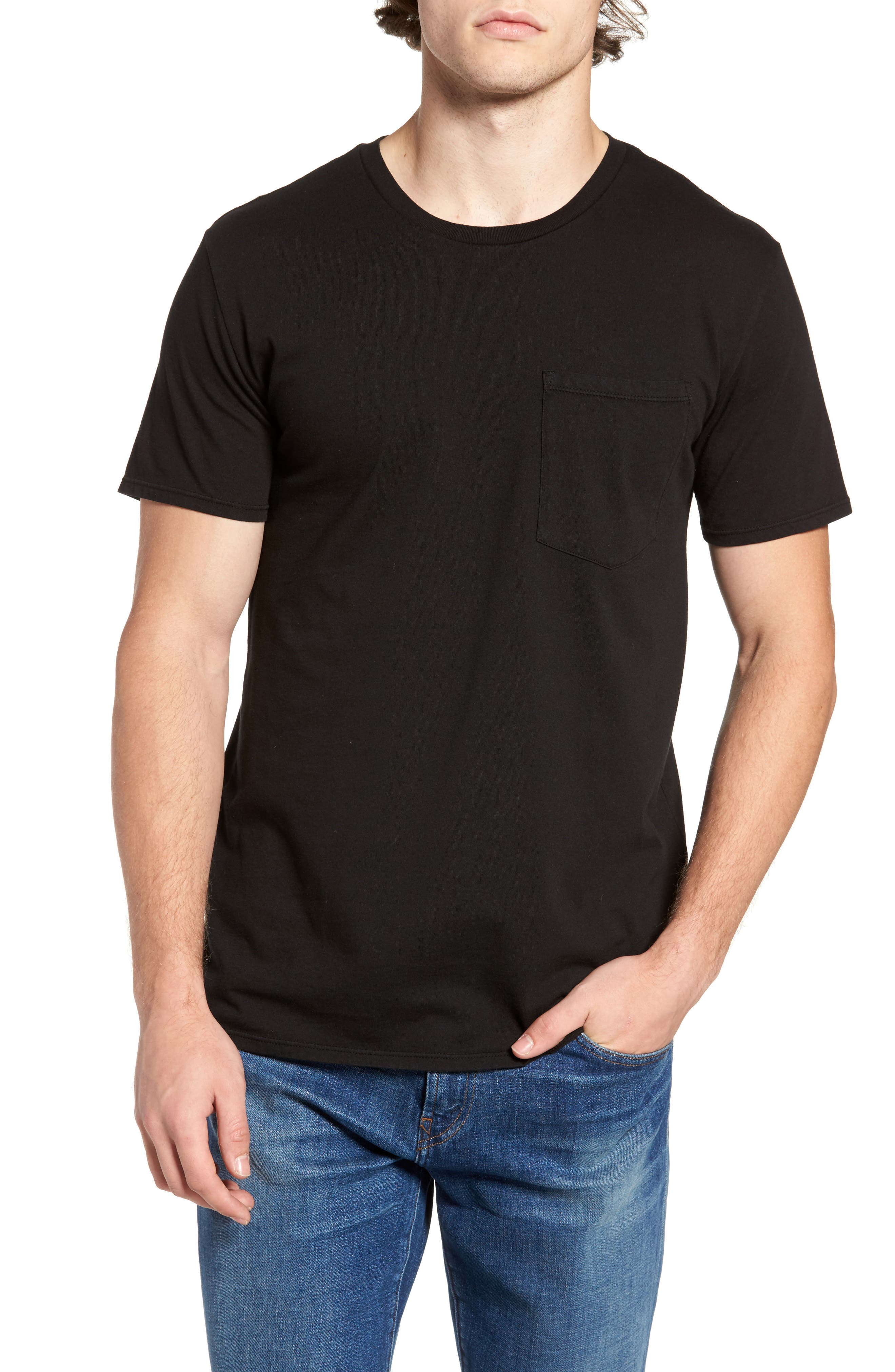 ORIGINAL PAPERBACKS,                             Pocket T-Shirt,                             Main thumbnail 1, color,                             001