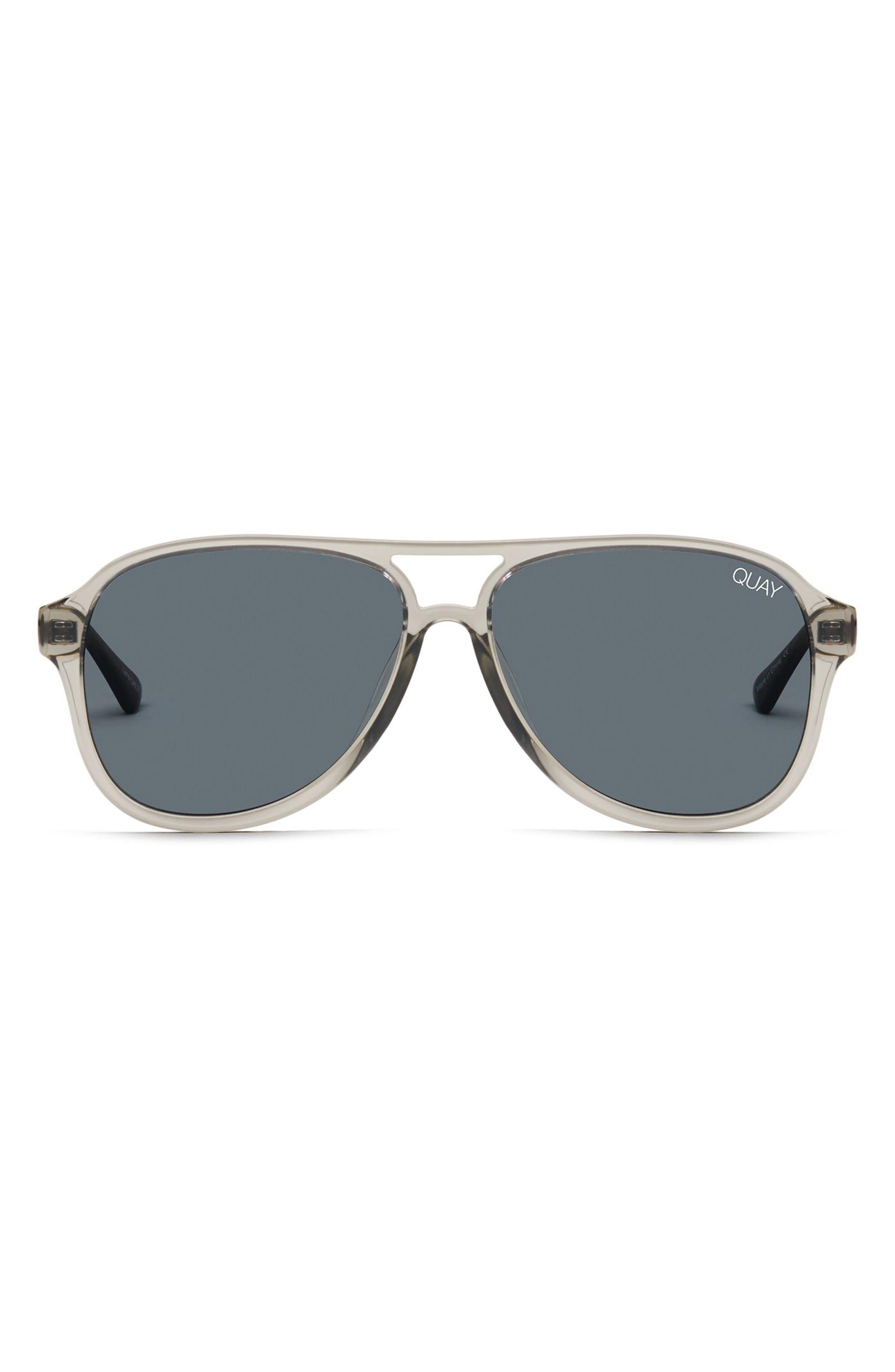 Under Pressure 58mm Aviator Sunglasses,                             Alternate thumbnail 5, color,                             GREY/ SMOKE