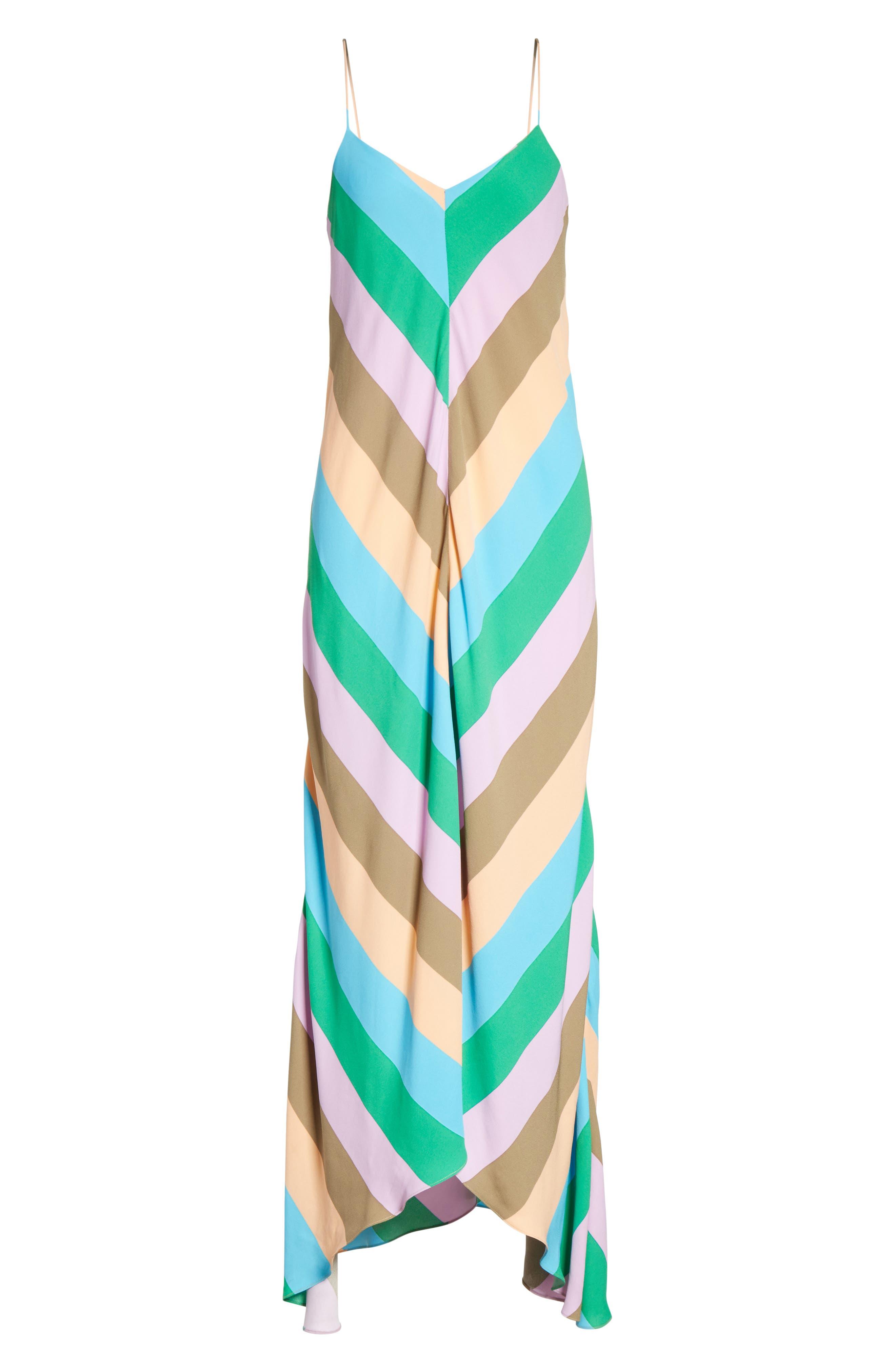 Maxi Slip Dress,                             Alternate thumbnail 6, color,                             420