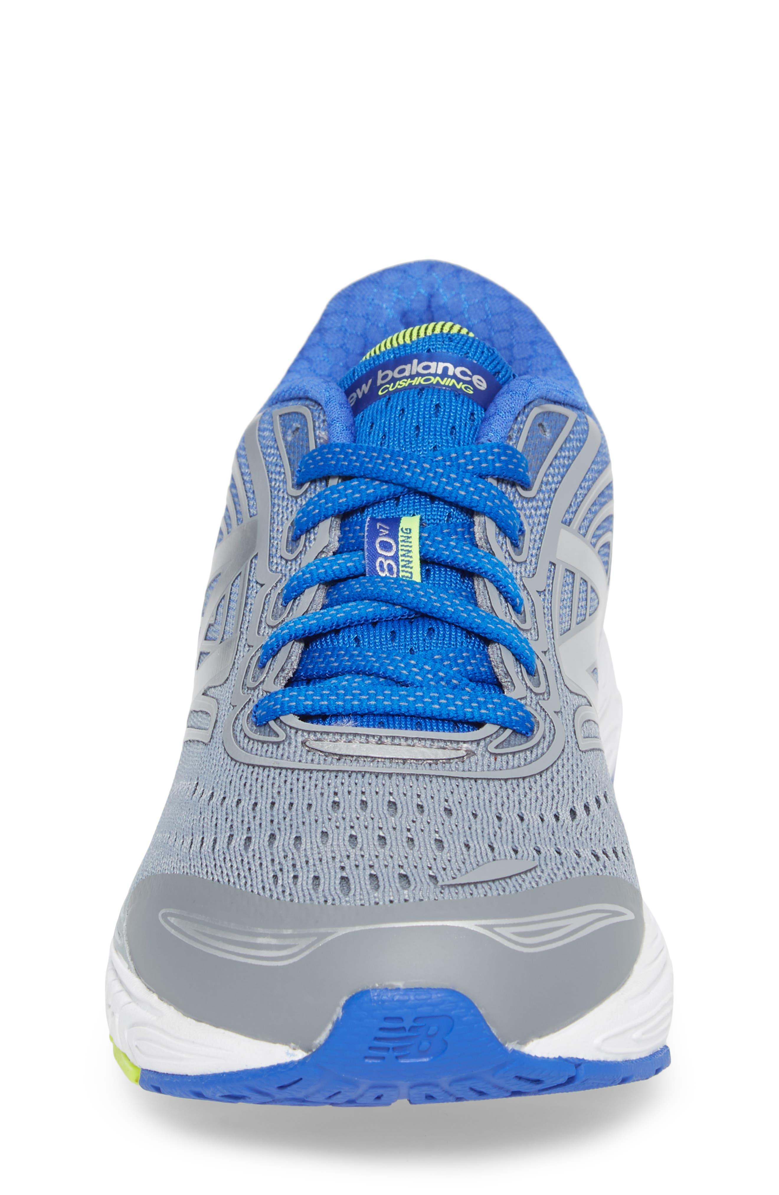 880v7 Sneaker,                             Alternate thumbnail 4, color,                             STEEL