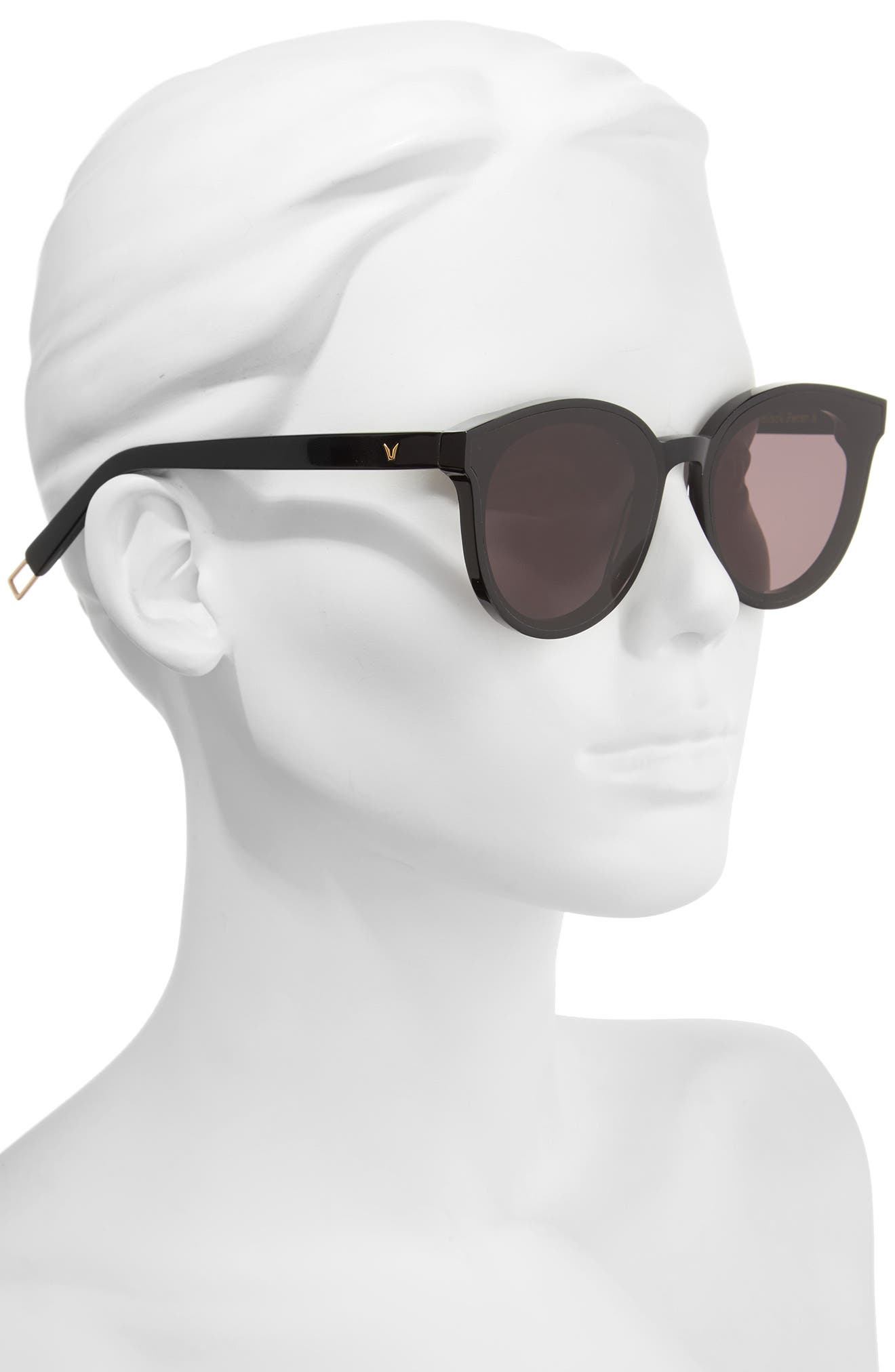 Black Peter 61mm Rounded Sunglasses,                             Alternate thumbnail 2, color,                             001